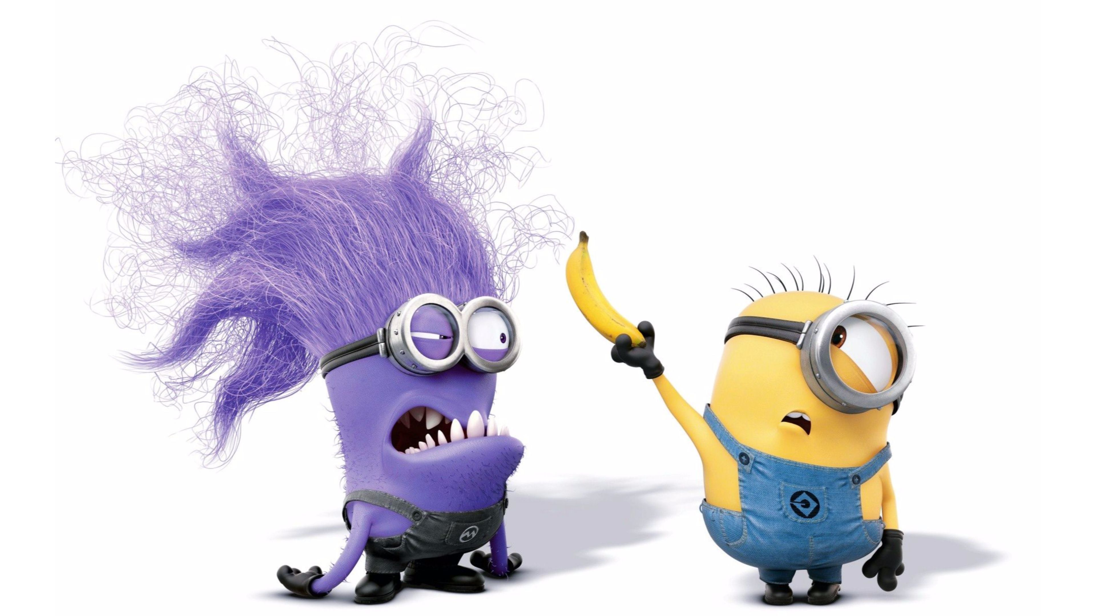 Purple Minions wallpaper