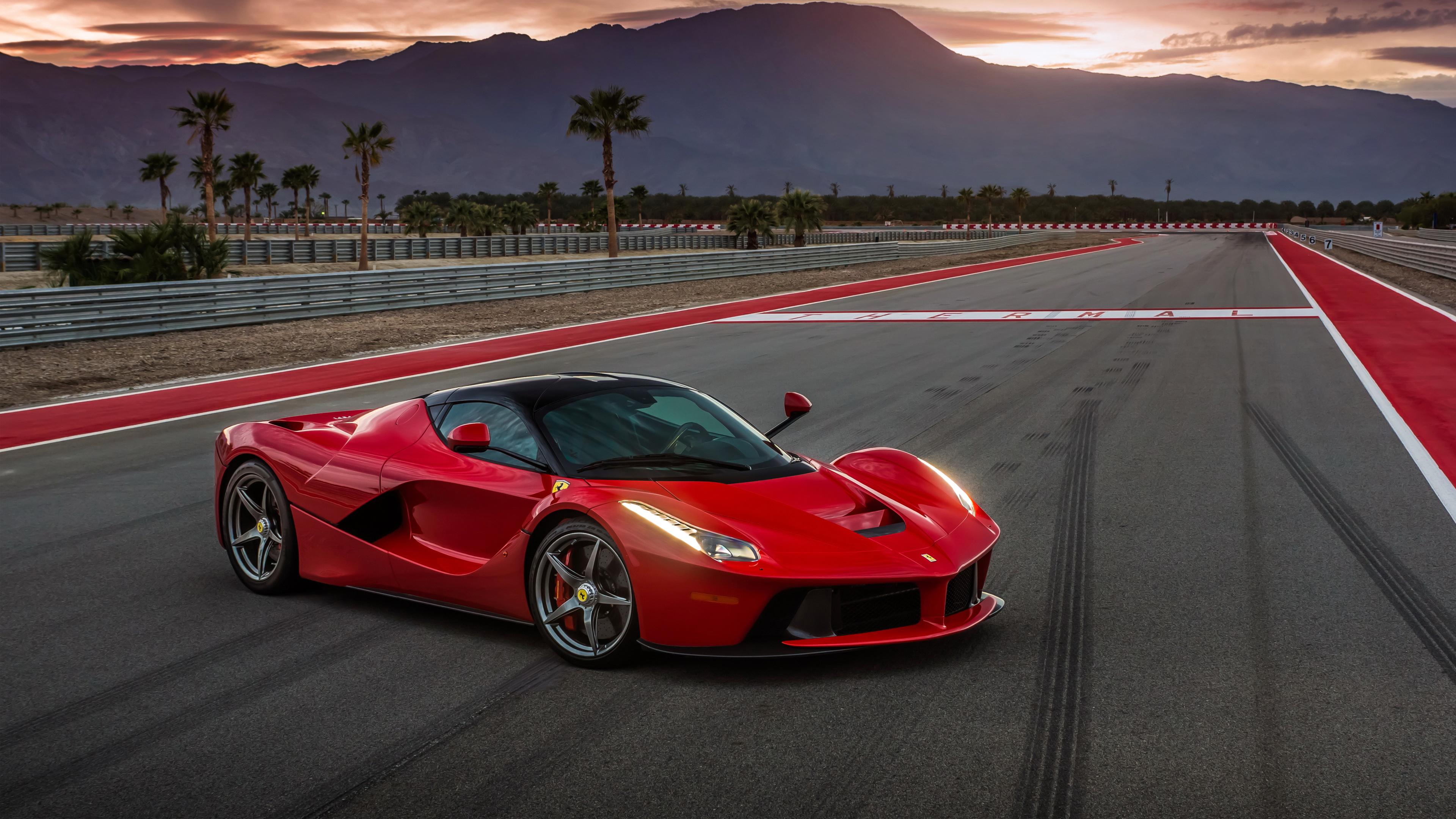 Ferrari Logo 8K Wallpaper