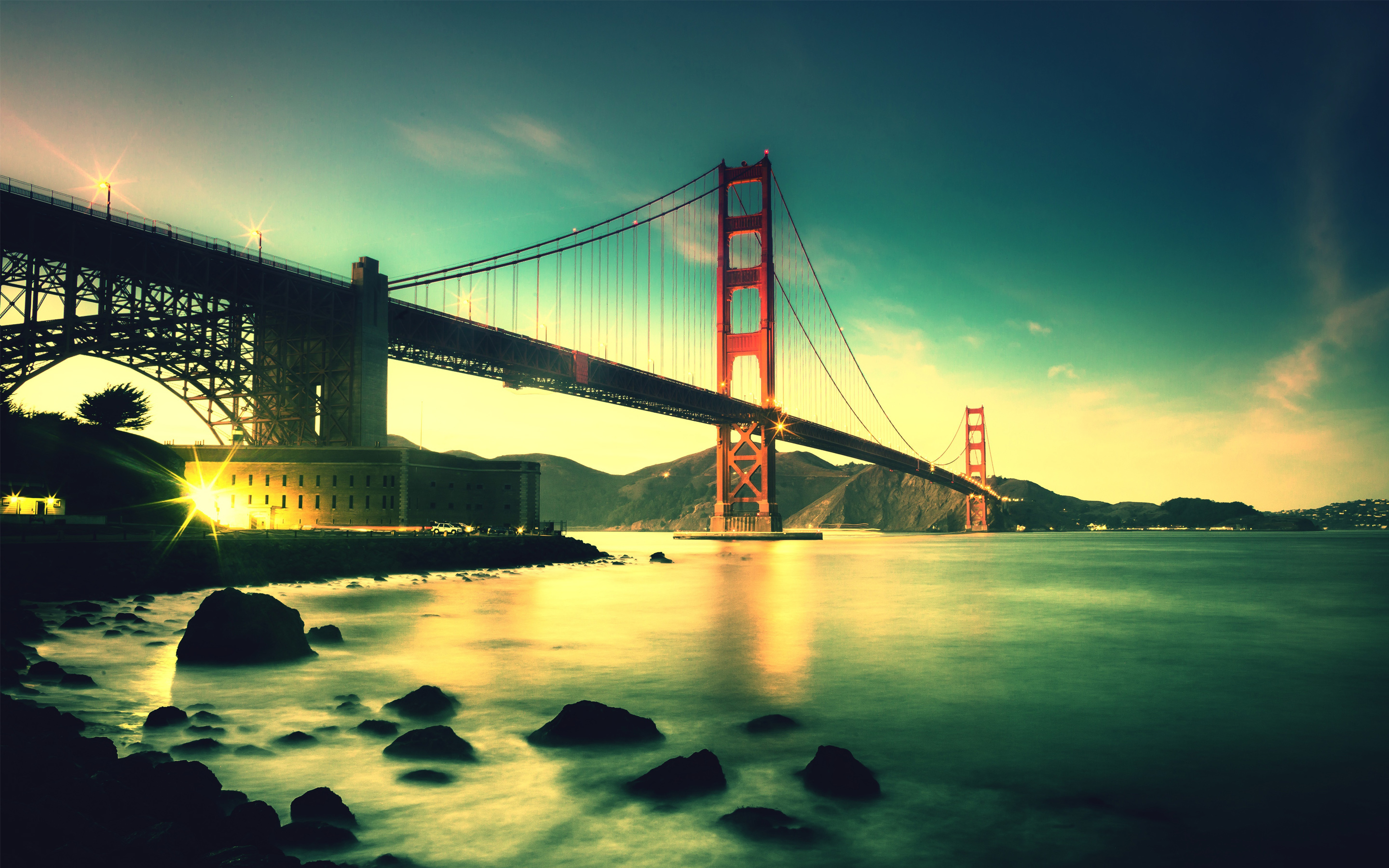 Golden Gate Bridge 5K wallpaper