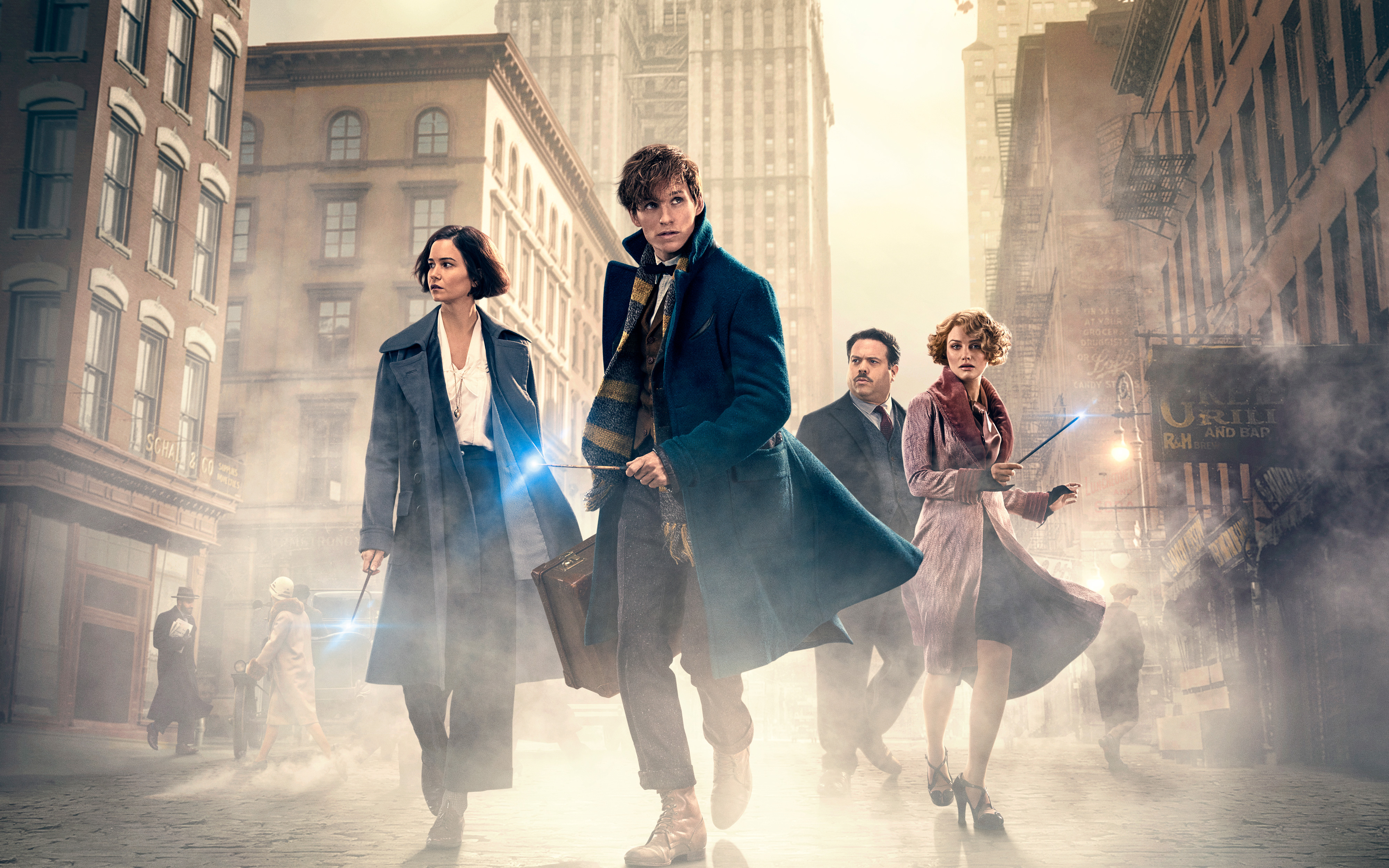Fantastic Beasts And Where To Find Them 5K 4K Wallpaper