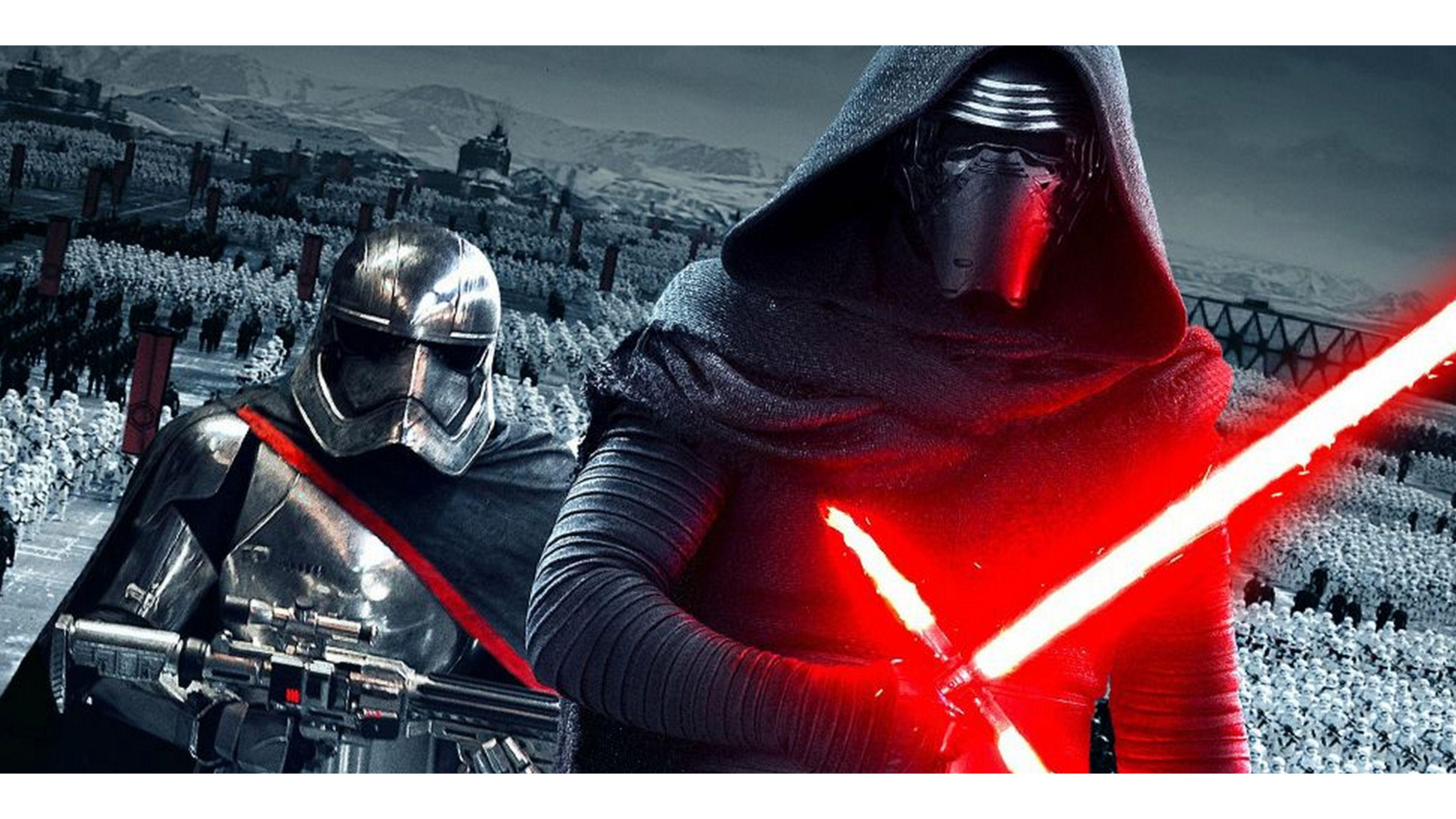 Epic Star Wars The Force Awakens 4k Wallpaper