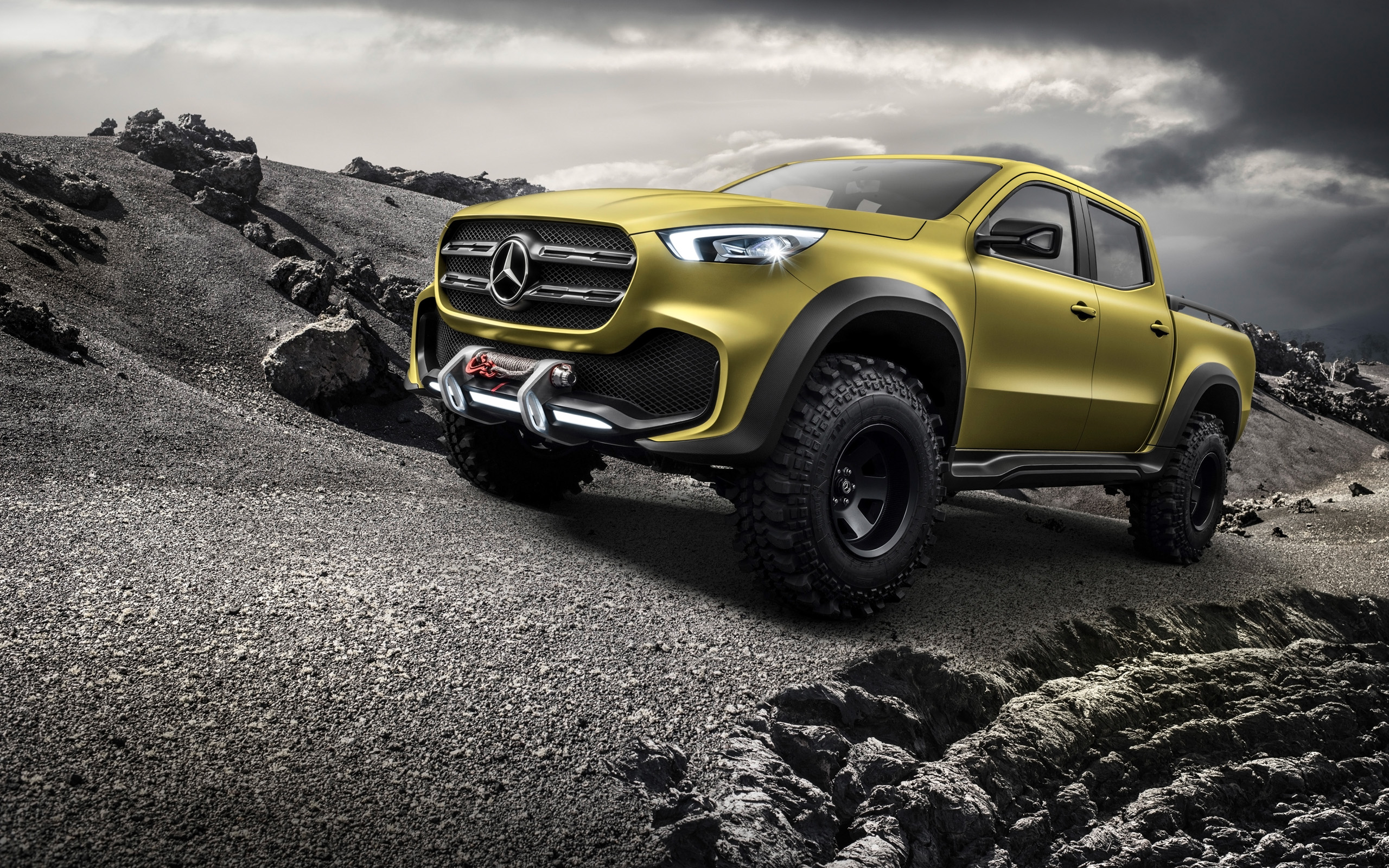 Mercedes Benz Concept X Class Pickup Adventurer wallpaper
