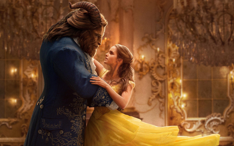 Beast Belle Emma Watson Wallpaper