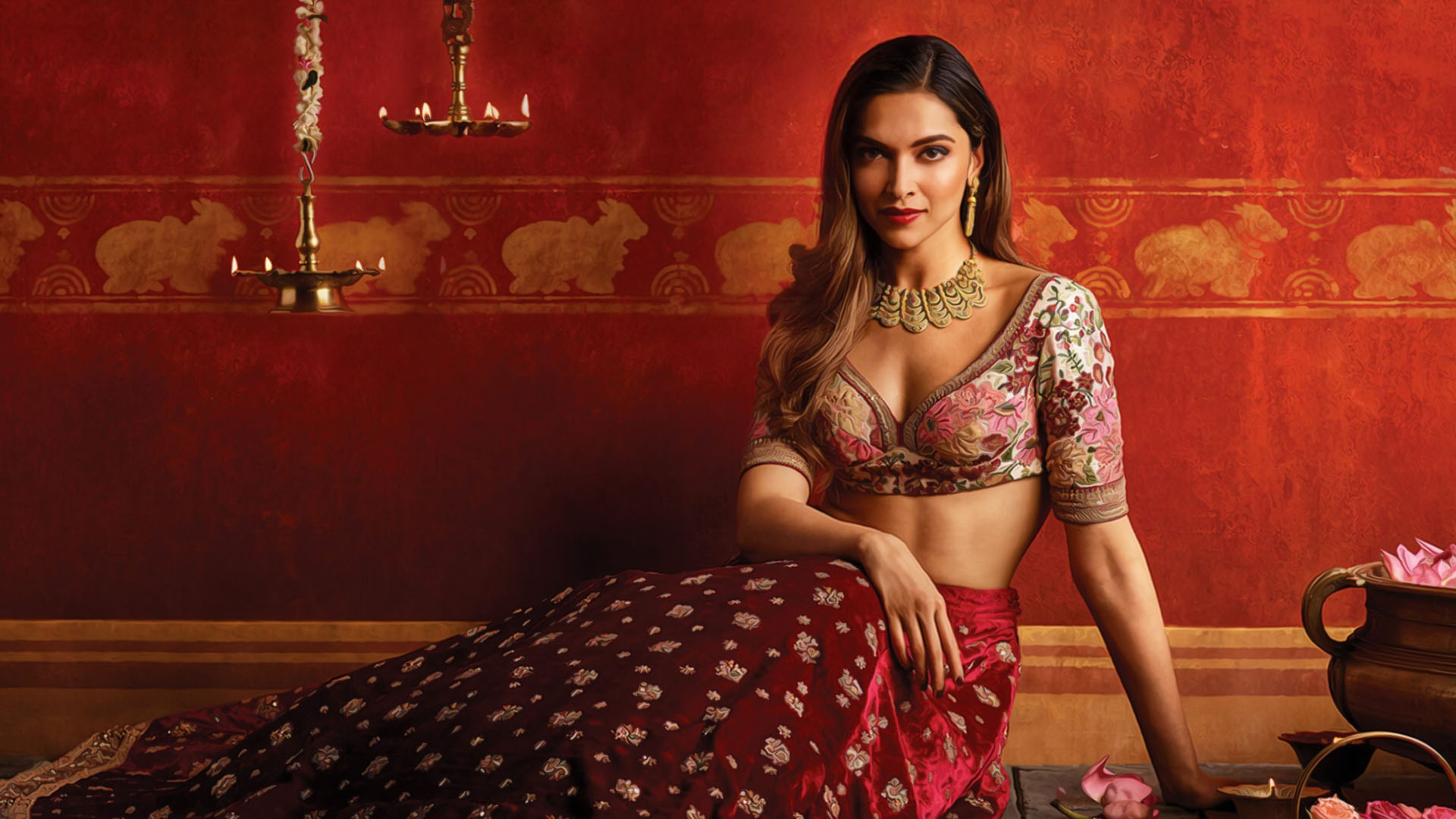 Deepika Padukone Tanishq wallpaper