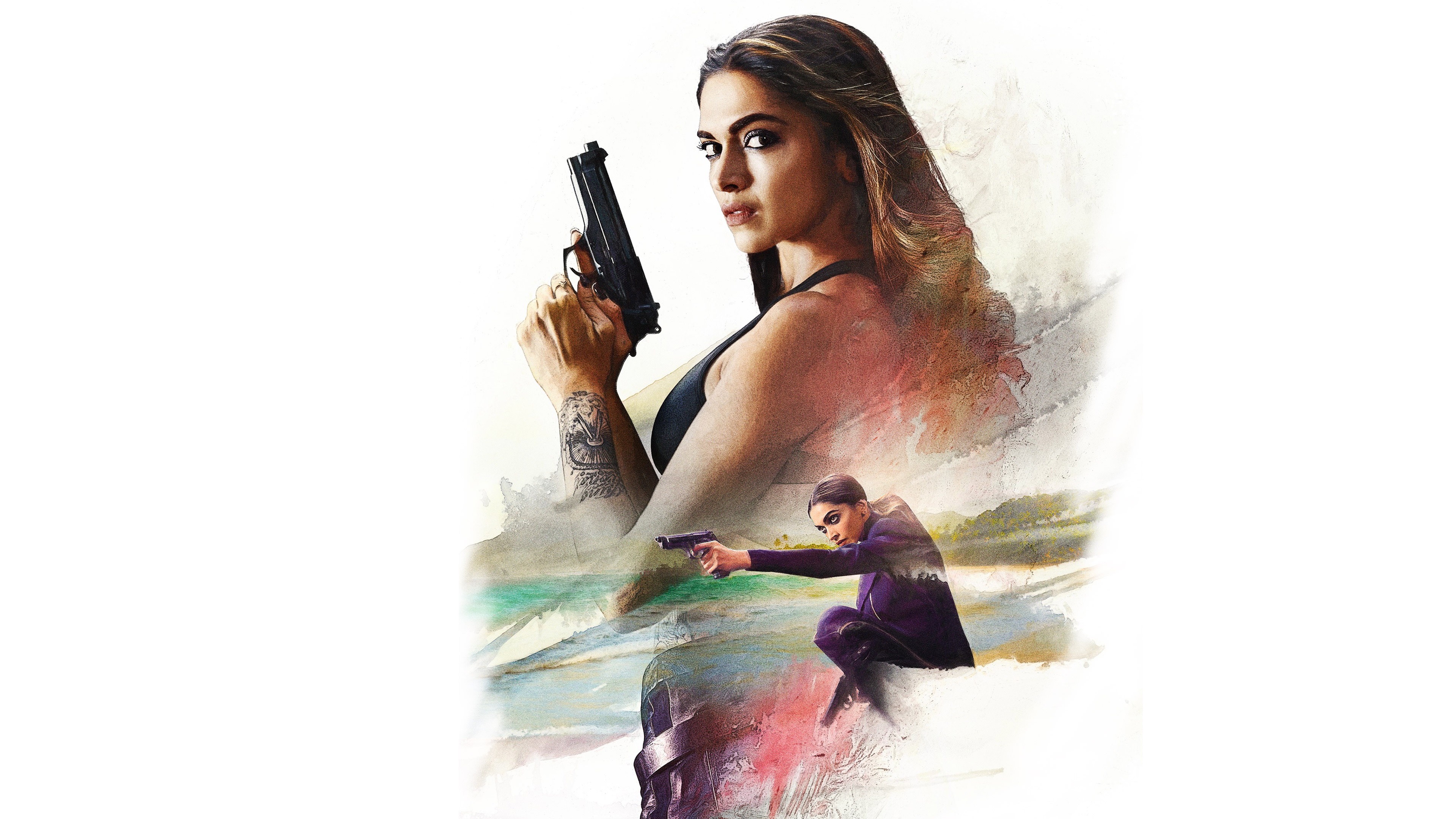 Deepika Padukone XXX Return of Xander Cage 4K wallpaper