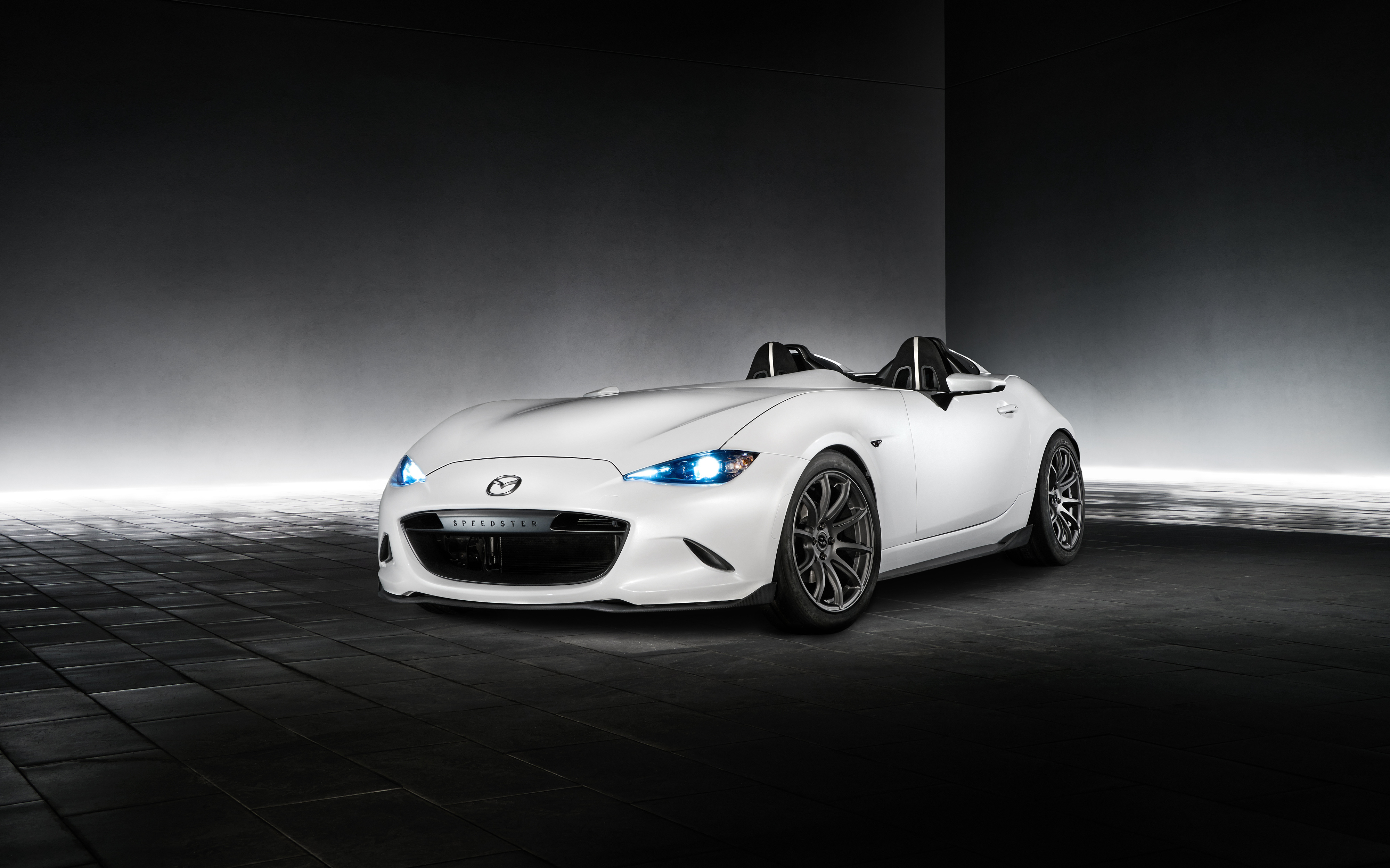 Mazda MX Speedster Evolution 4K wallpaper