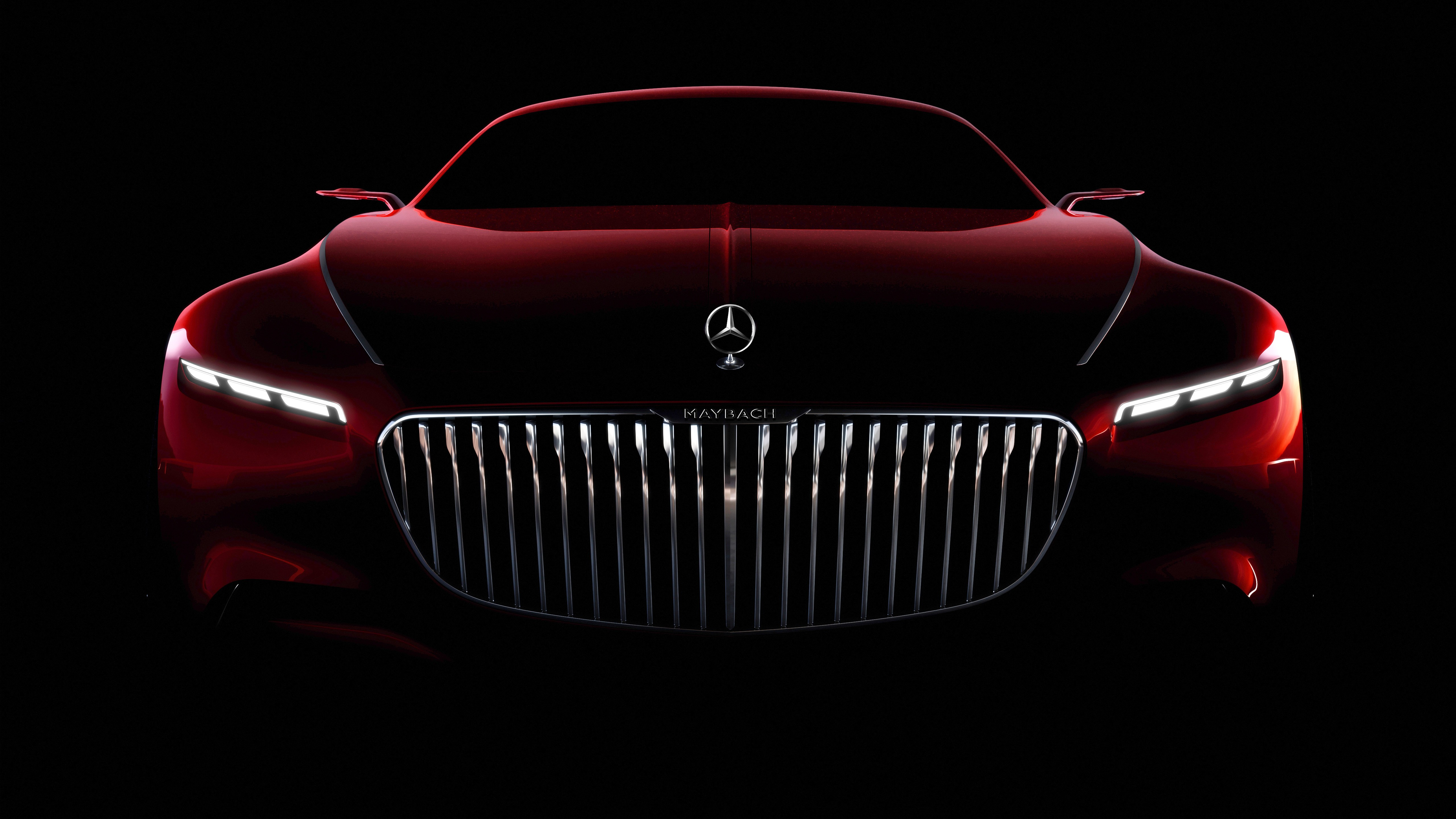 Vision Mercedes Maybach Coupe 5K wallpaper