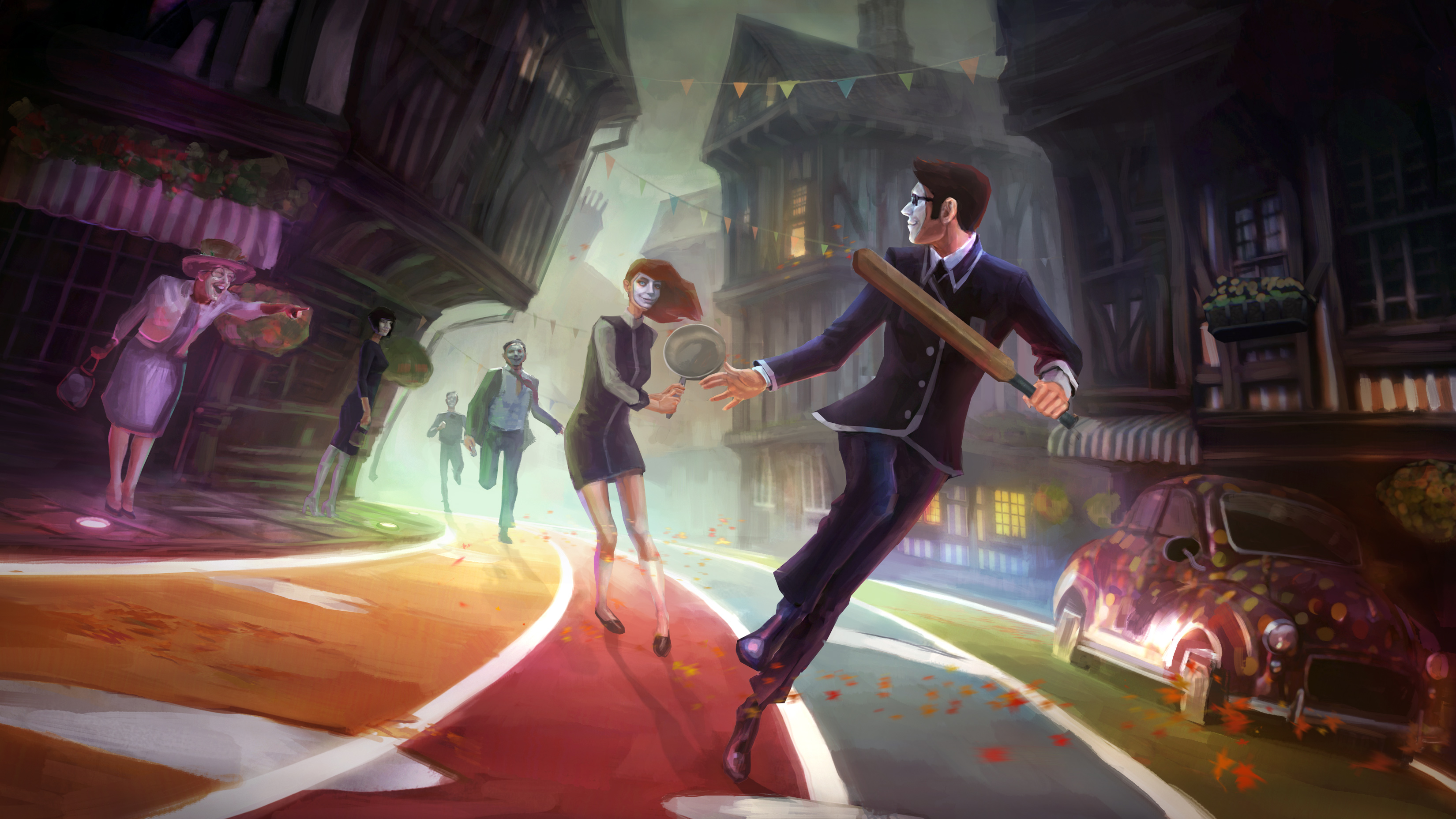 We Happy Few Game wallpaper