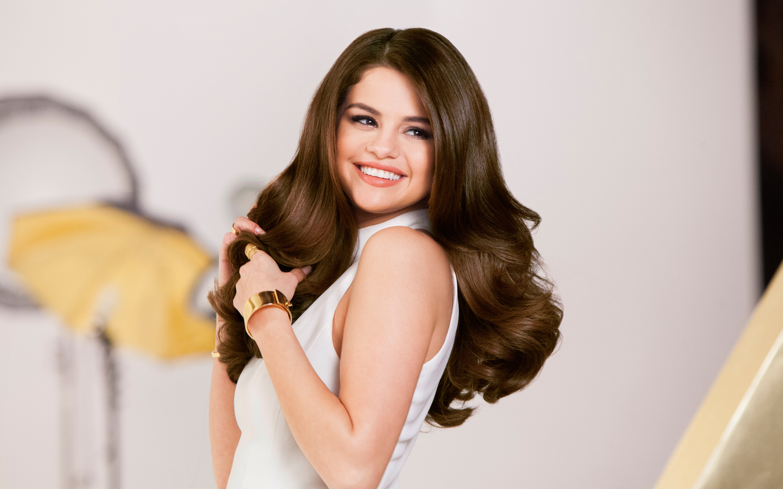Selena Gomez Pantene Photoshoot HD wallpaper