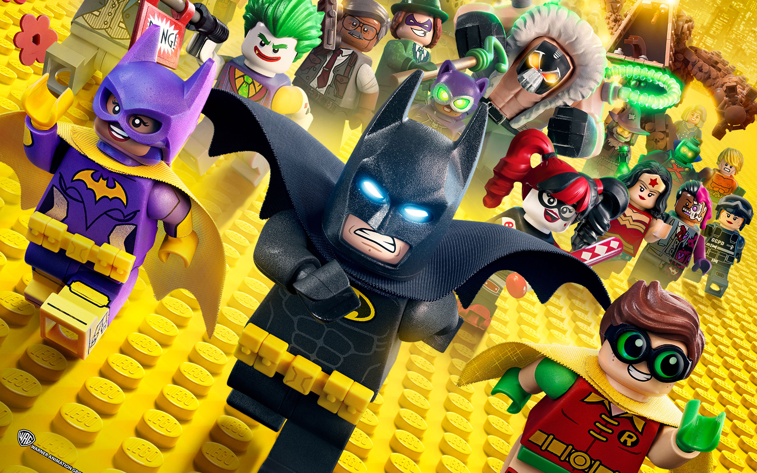 The Lego Batman Movie Animation HD wallpaper