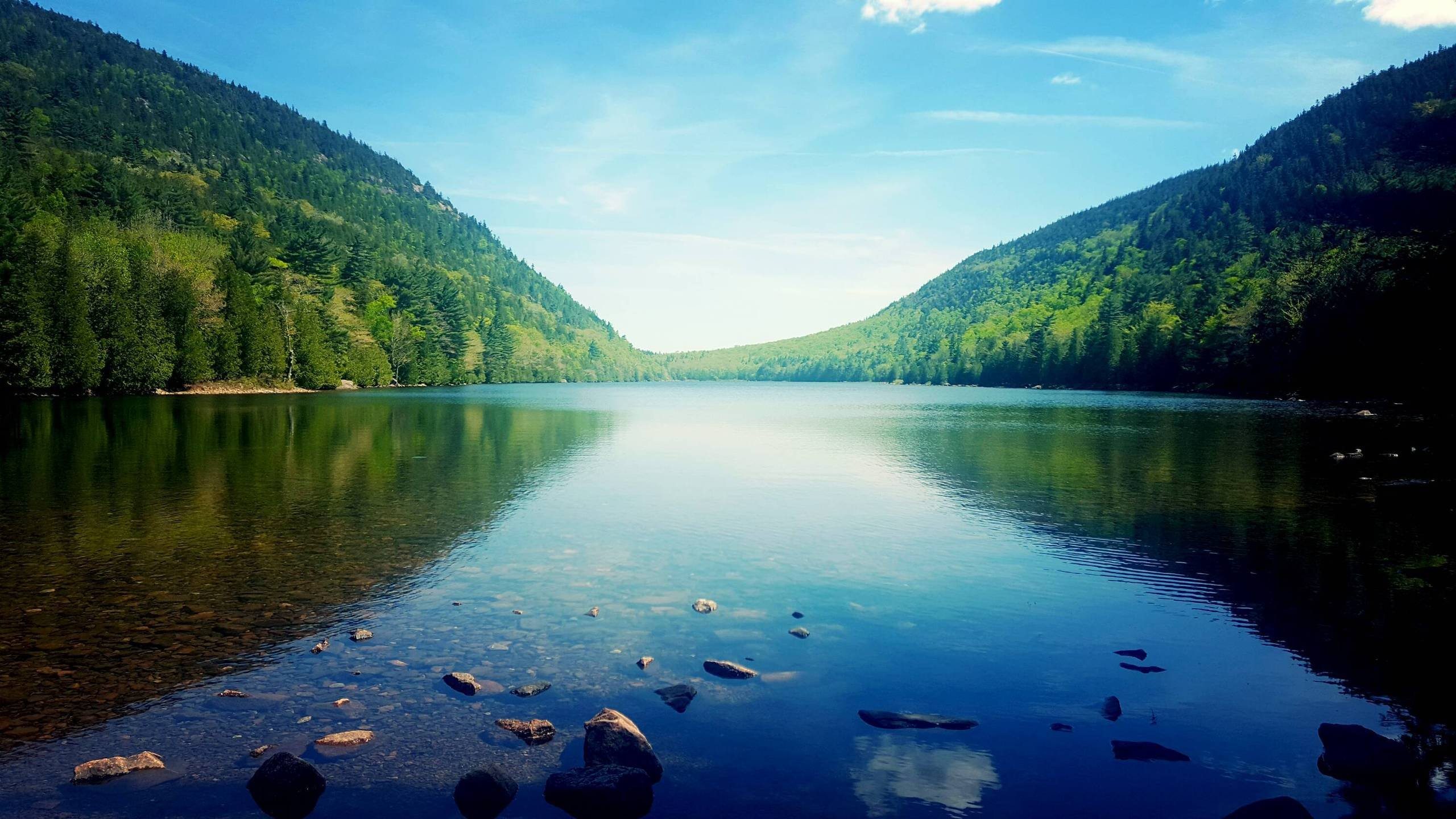 Jordan Pond Acadia National Park Maine wallpaper