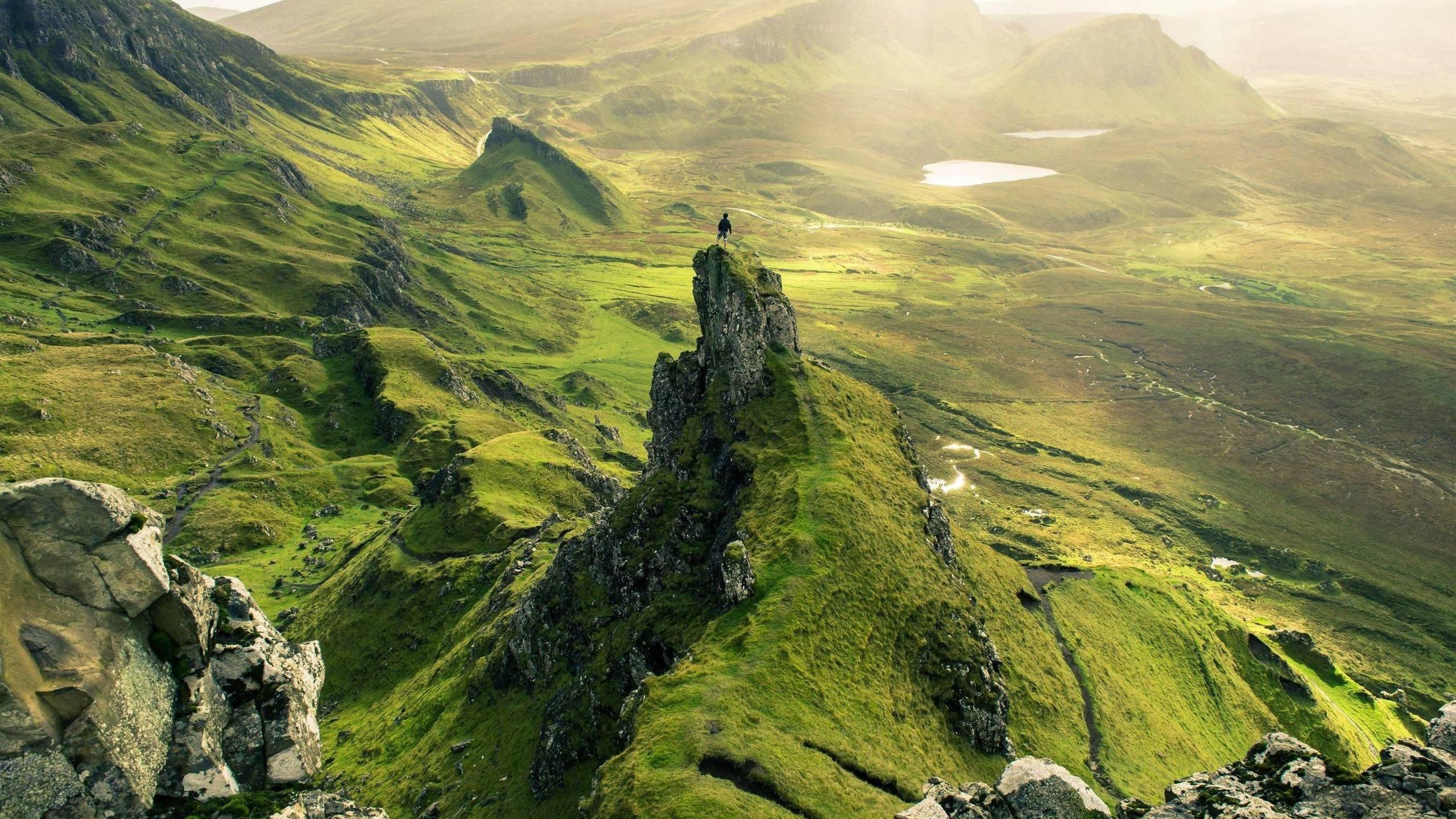 Quiraing Area Of The Isle Of Skye Hd Wallpaper
