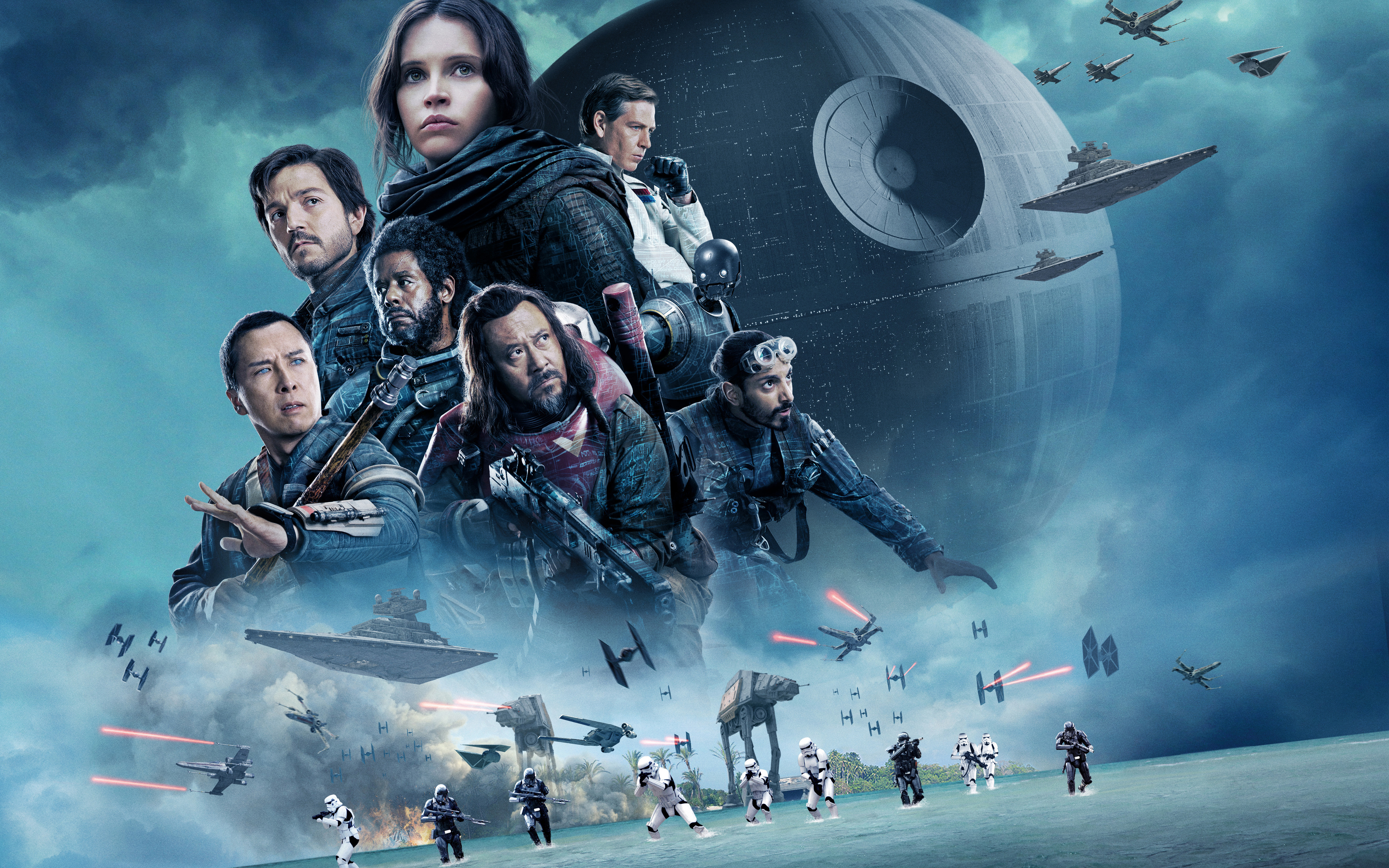 Rogue One A Star Wars Story 5K 2016 wallpaper