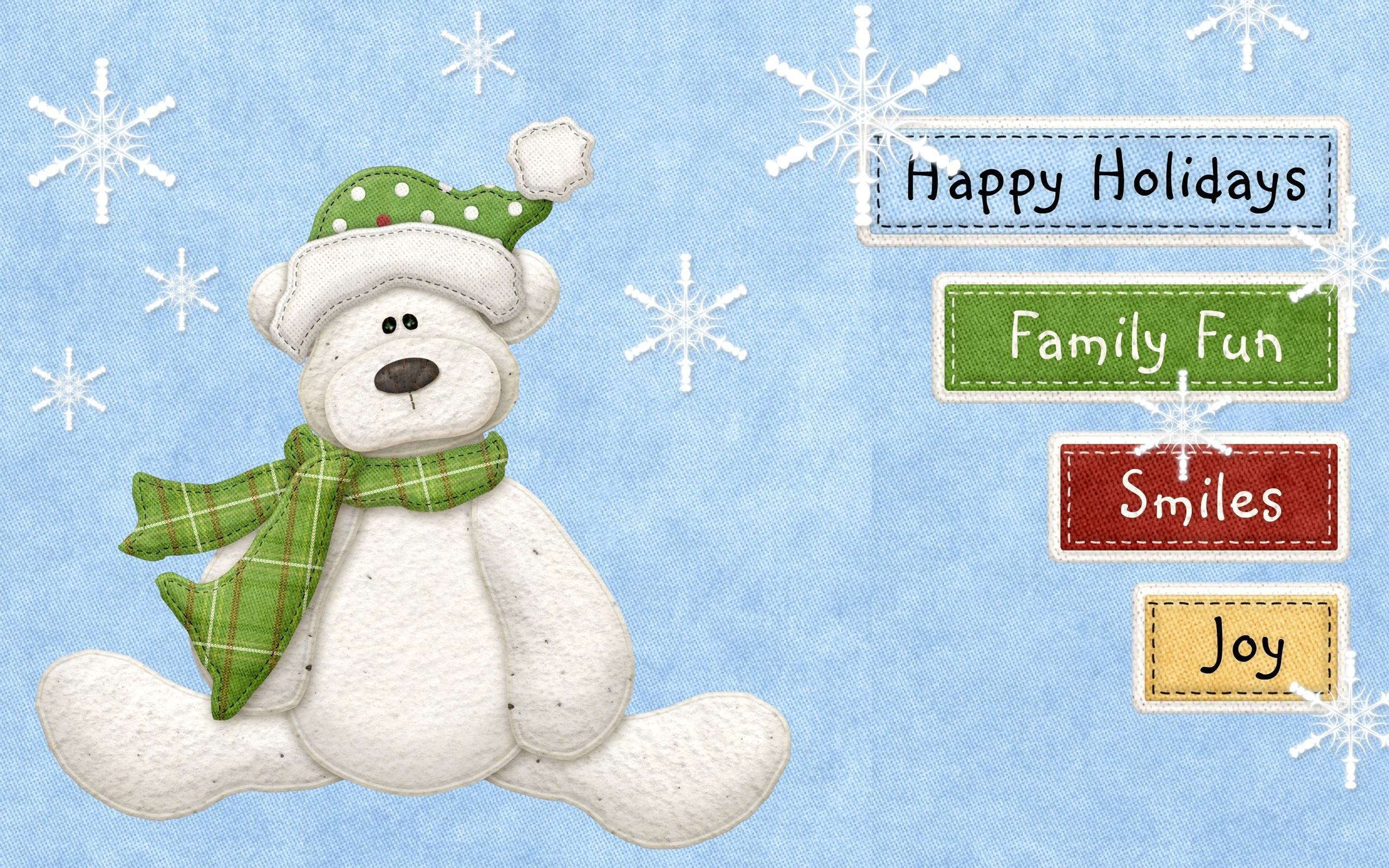 Happy Holidays Fun Joy wallpaper