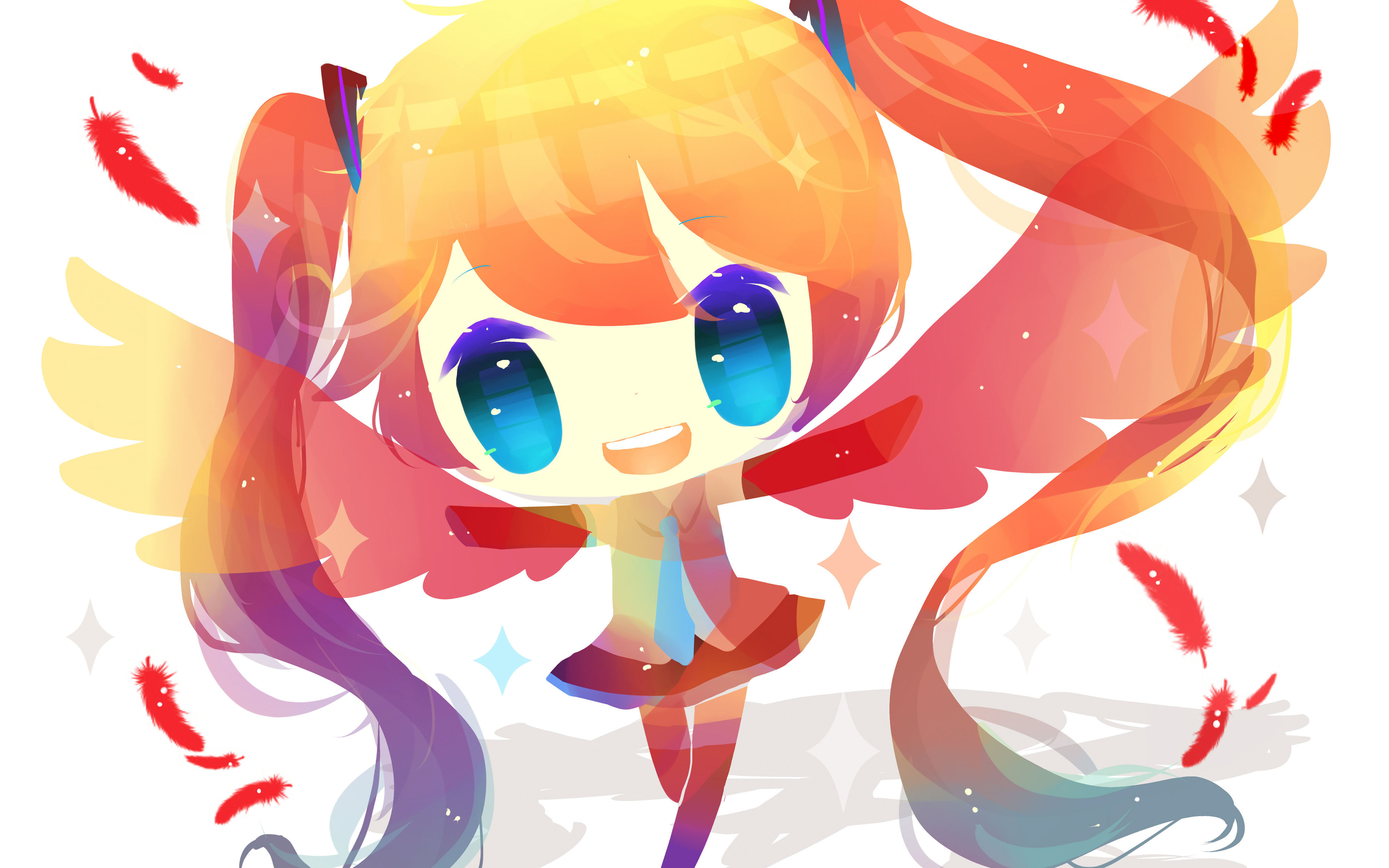 Anime Girl Vocaloid 4K wallpaper