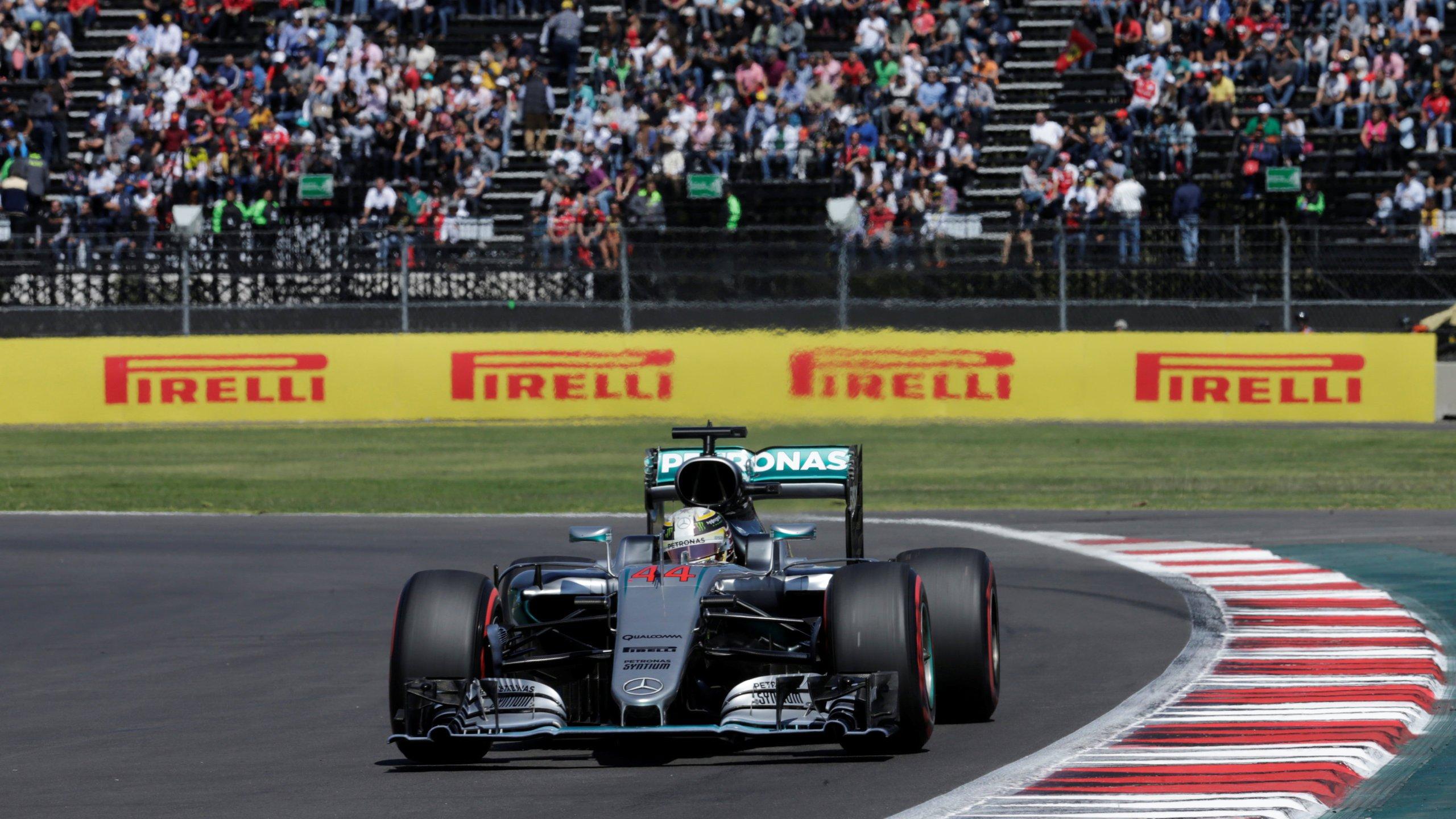 Mexican GP Lewis Hamilton HD wallpaper