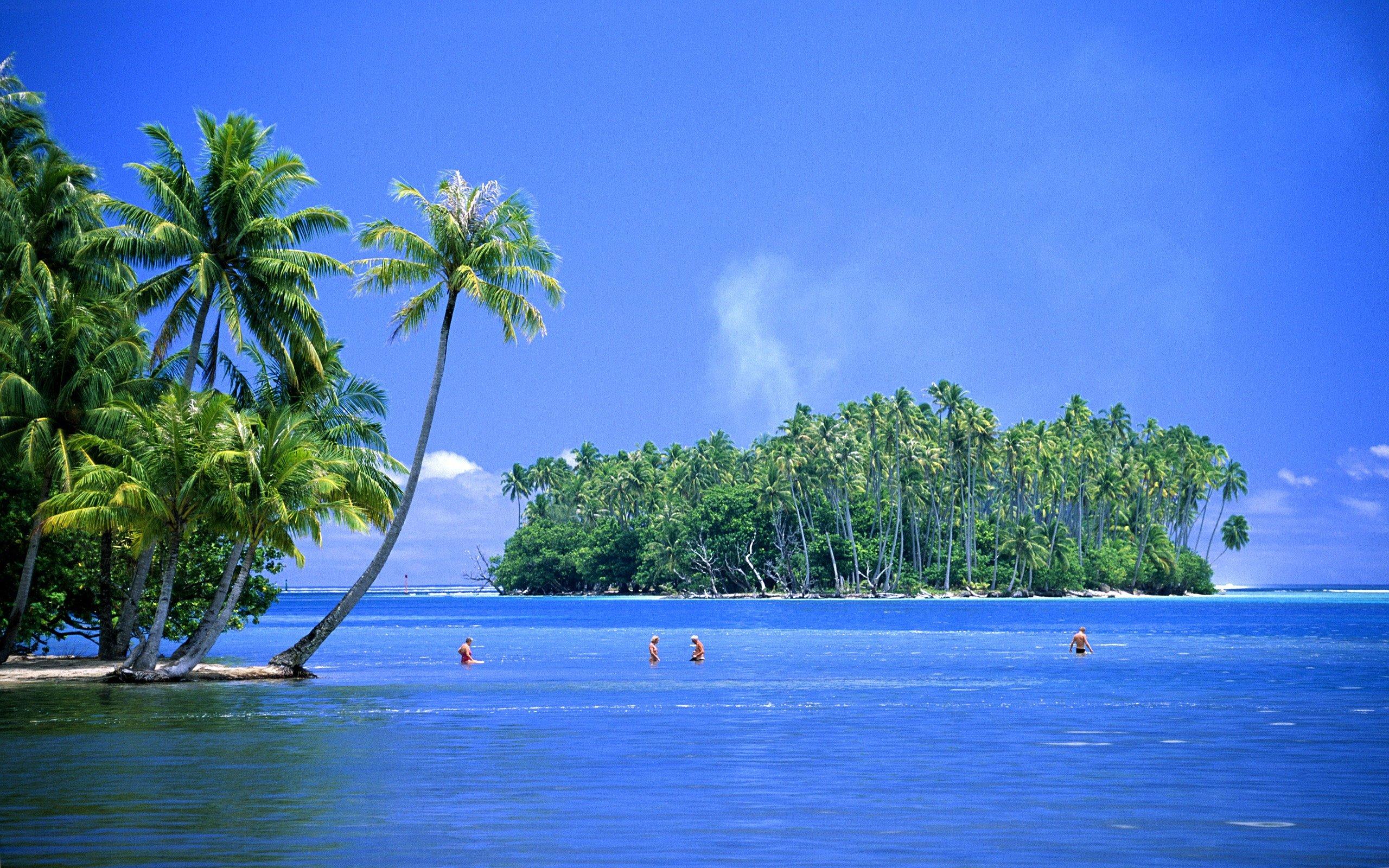 caribbean island hd wallpaper