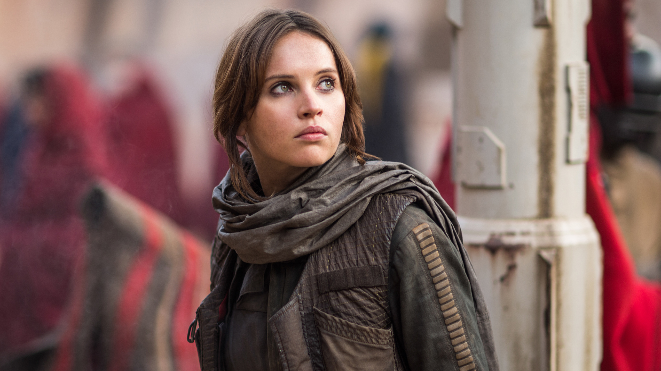Jyn Erso Felicity Jones wallpaper