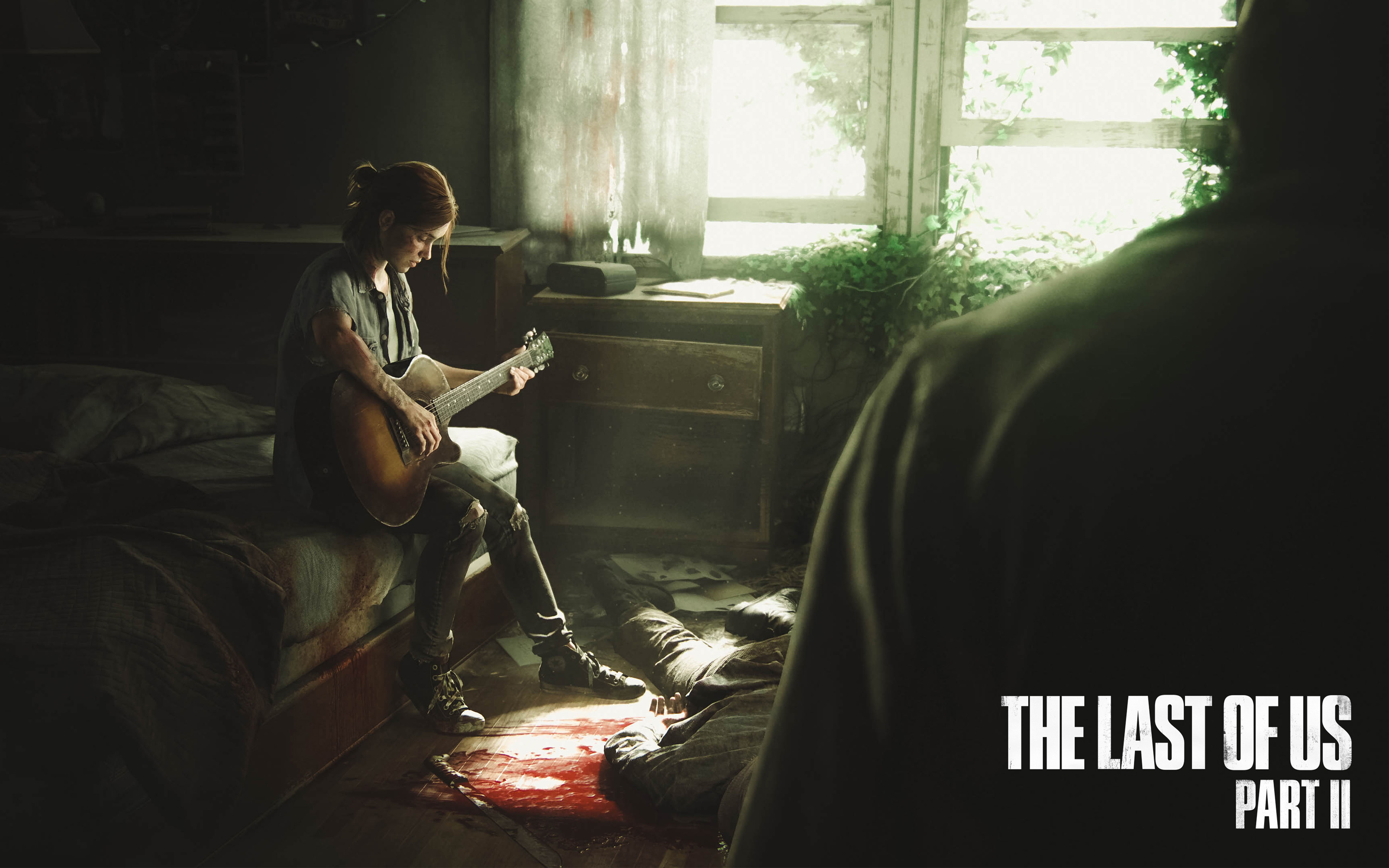 The Last of Us Part II Ellie 4K wallpaper
