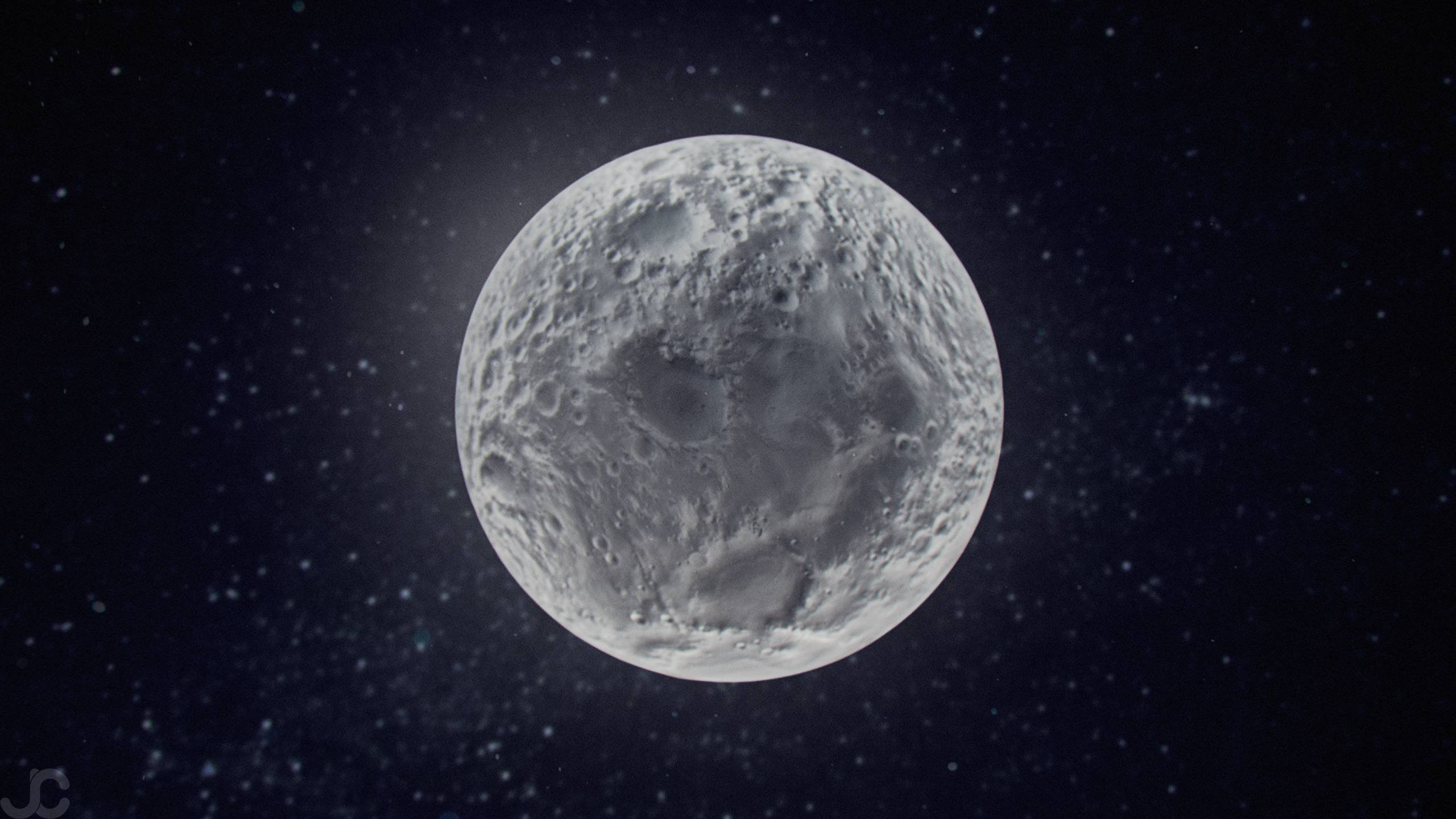 Bright Side Of The Moon Hd Wallpaper