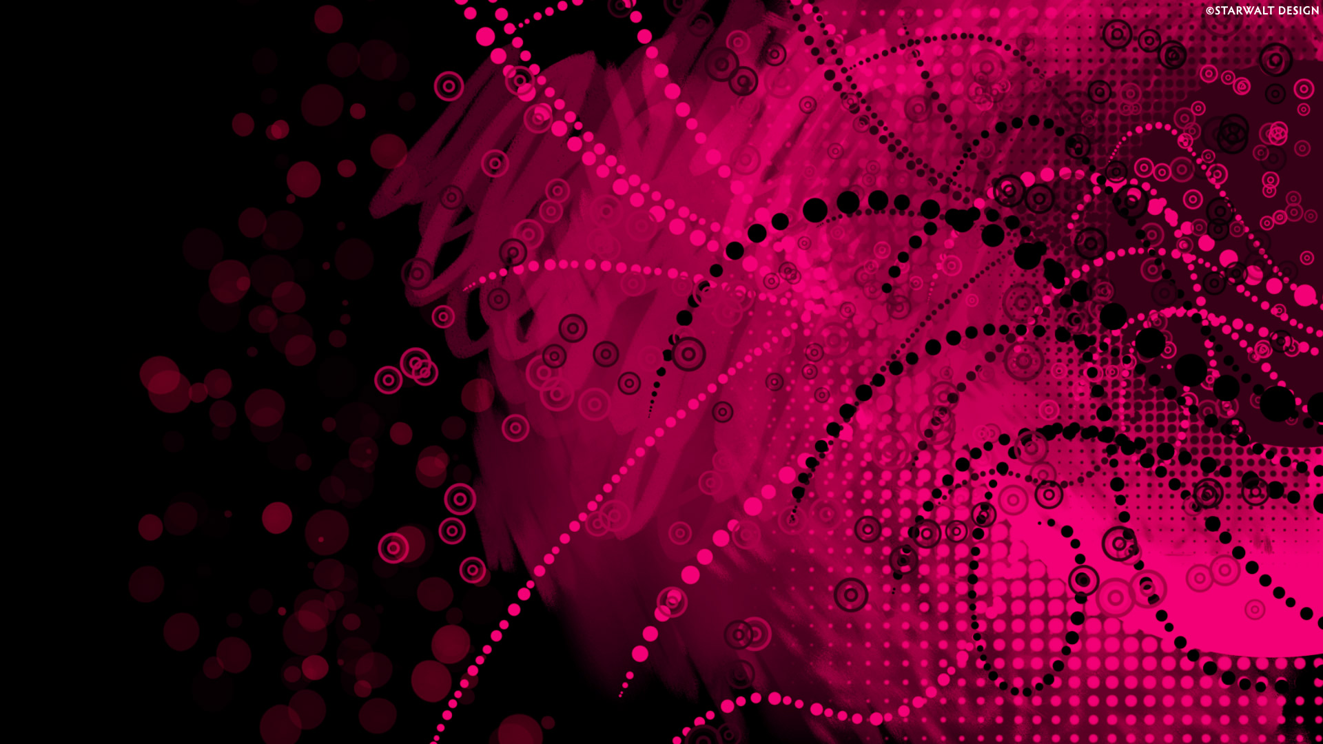 Pink Dark Vector 1080p wallpaper