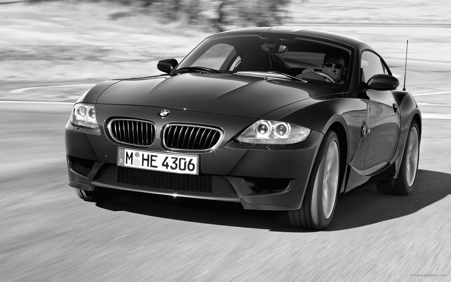BMW Z M Coupe 4 wallpaper