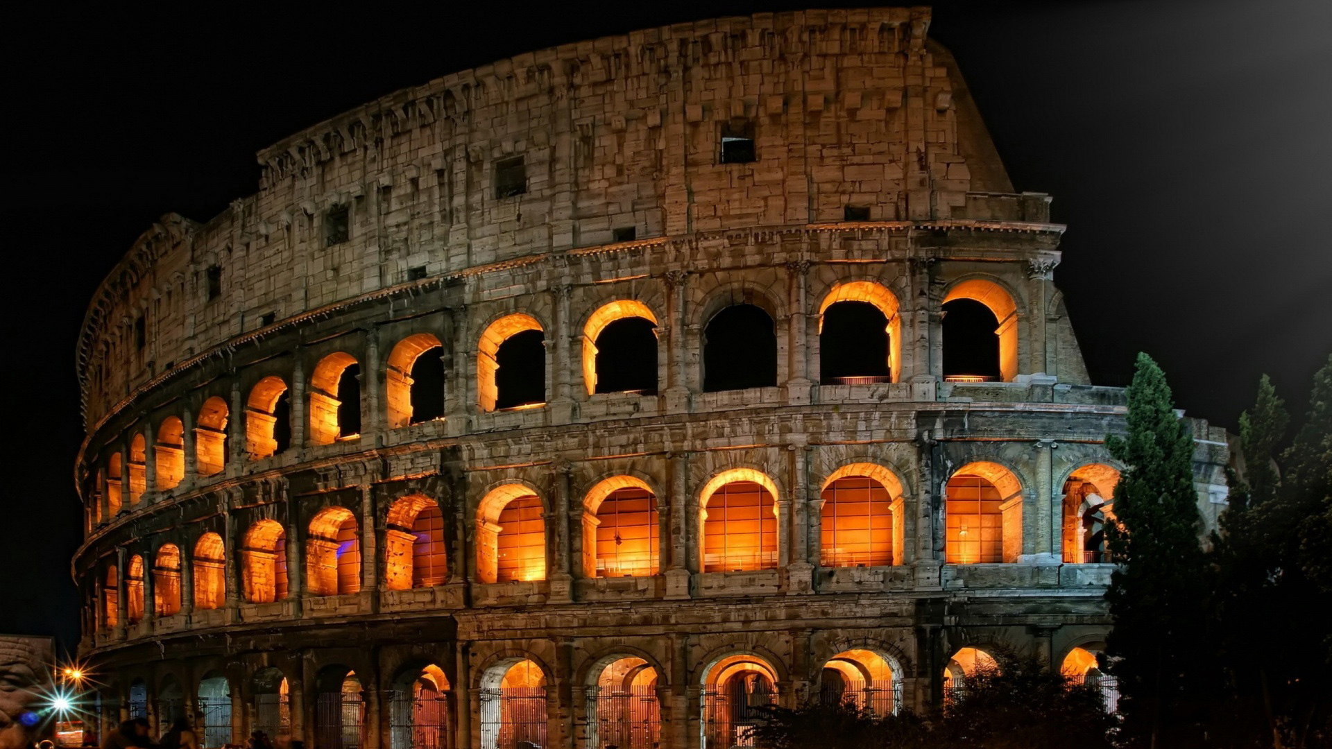 Roman Colosseum Hd Wallpaper