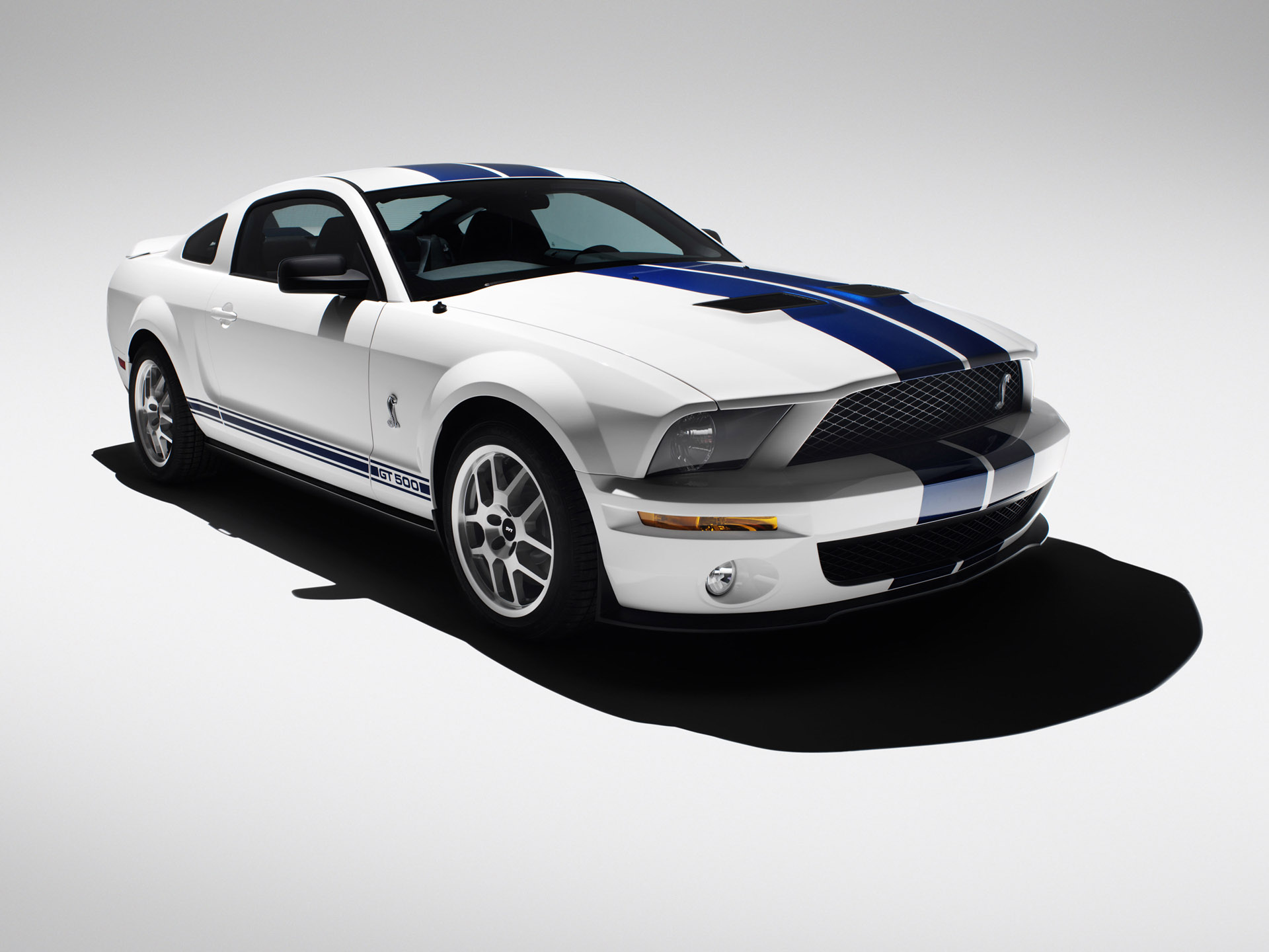 Ford Shelby GT White wallpaper