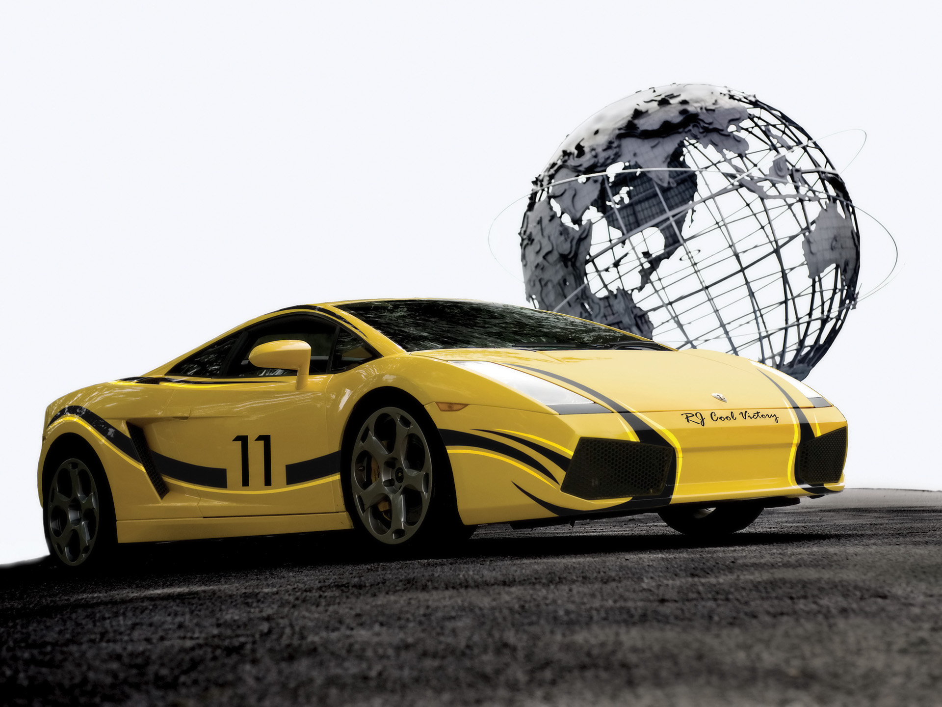 Cool Victory Lamborghini Gallardo wallpaper