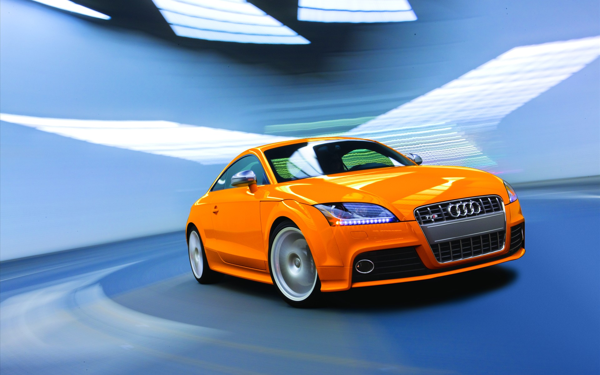 Audi TTS Coupe Car wallpaper