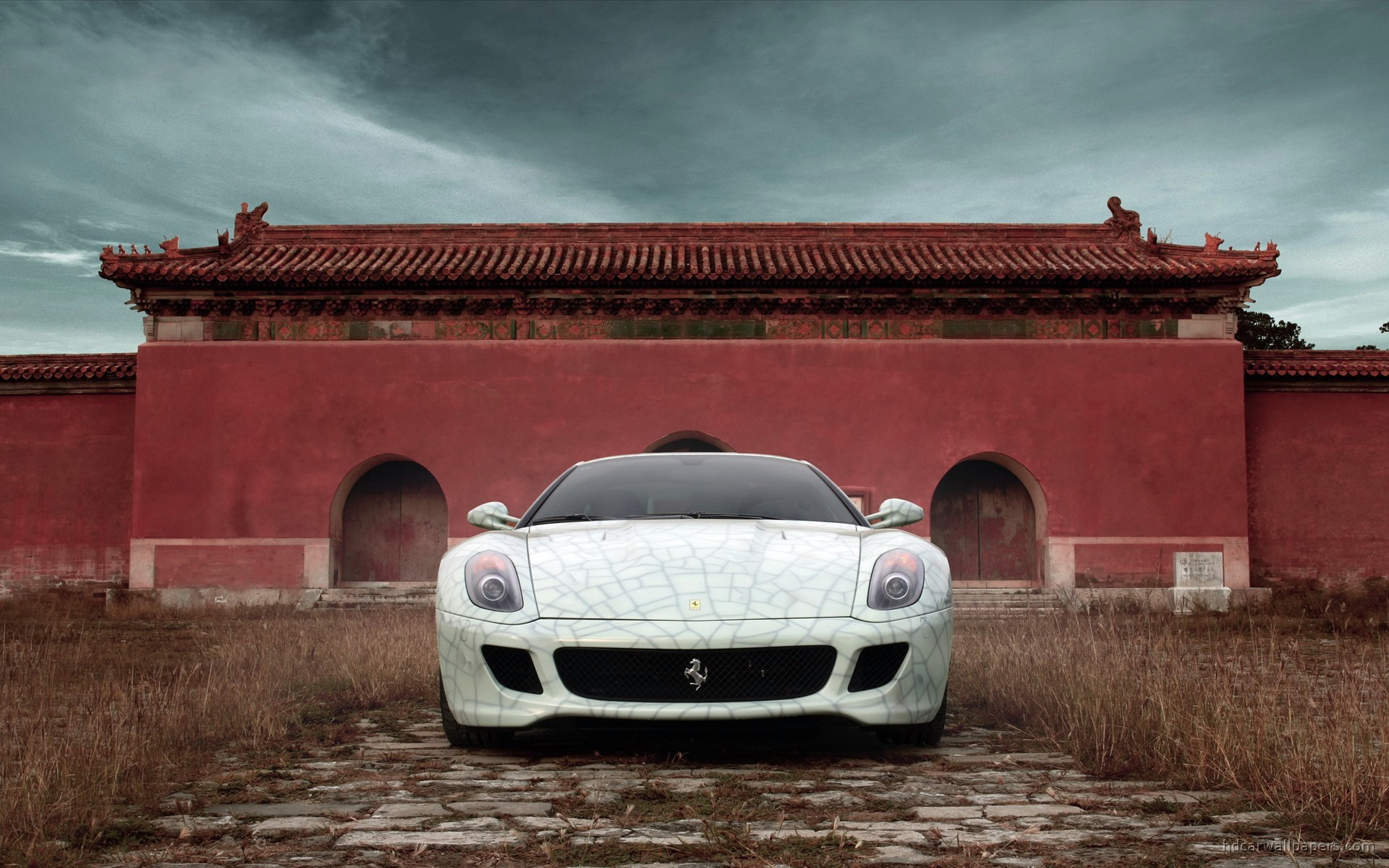 Ferrari GTB Fiorano China wallpaper