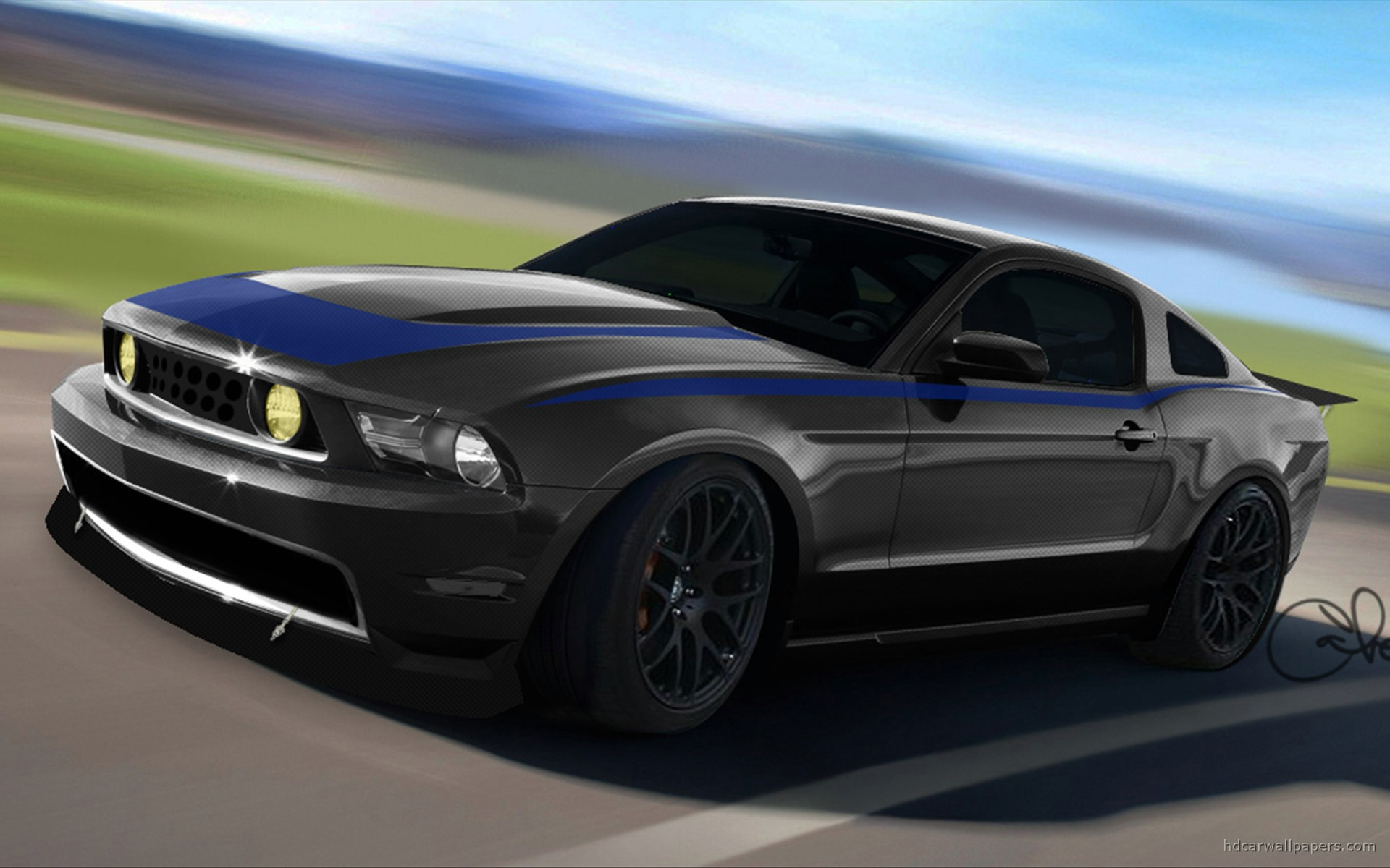 Ford Mustang at SEMA 4 wallpaper