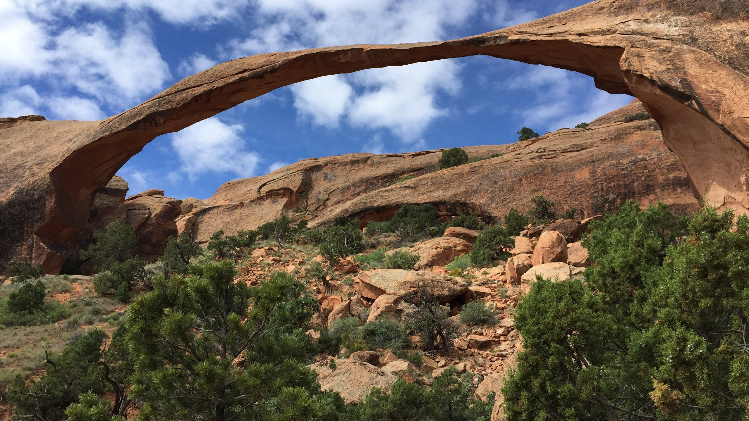 Landscape Arch Devils Garden Arches National Park wallpaper