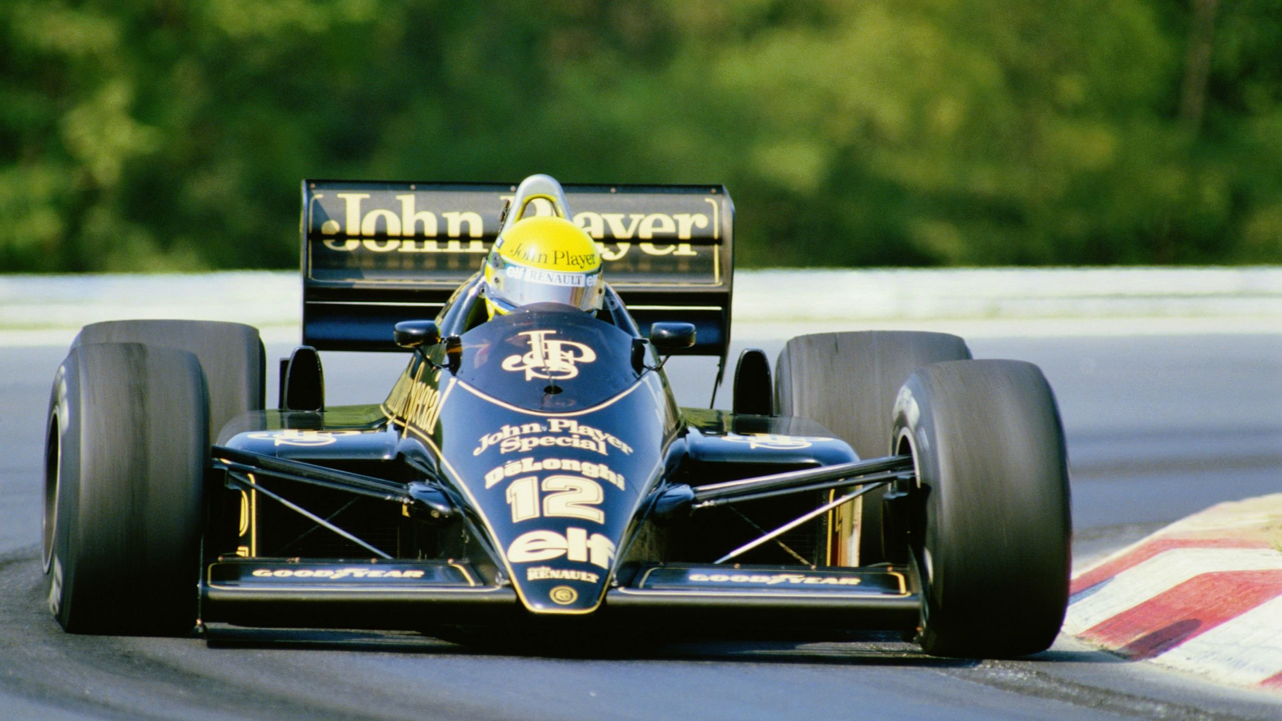 Ayrton Senna Lotus Renault 98t Hd Wallpaper