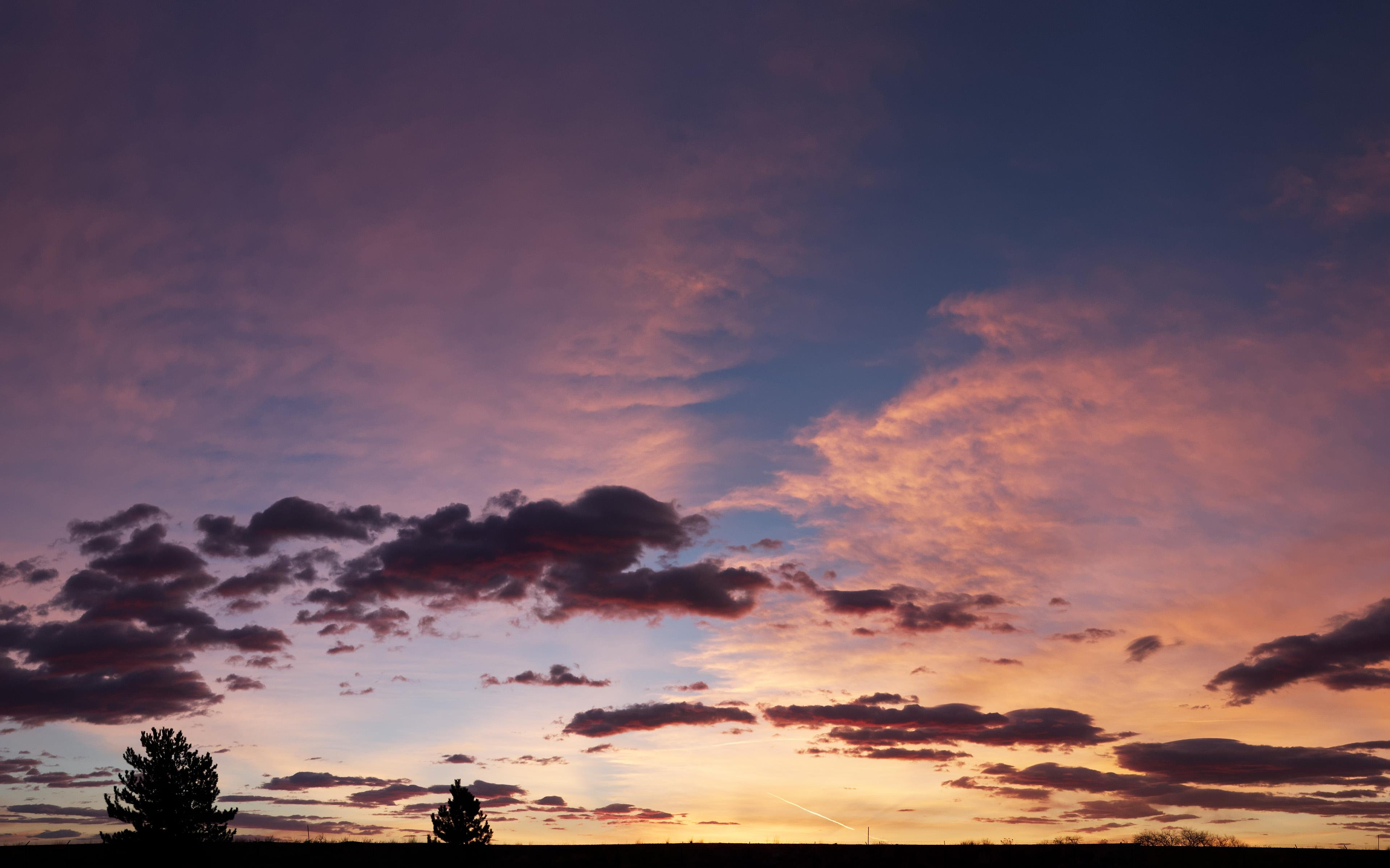Sunrise In Golden Co Panorama wallpaper