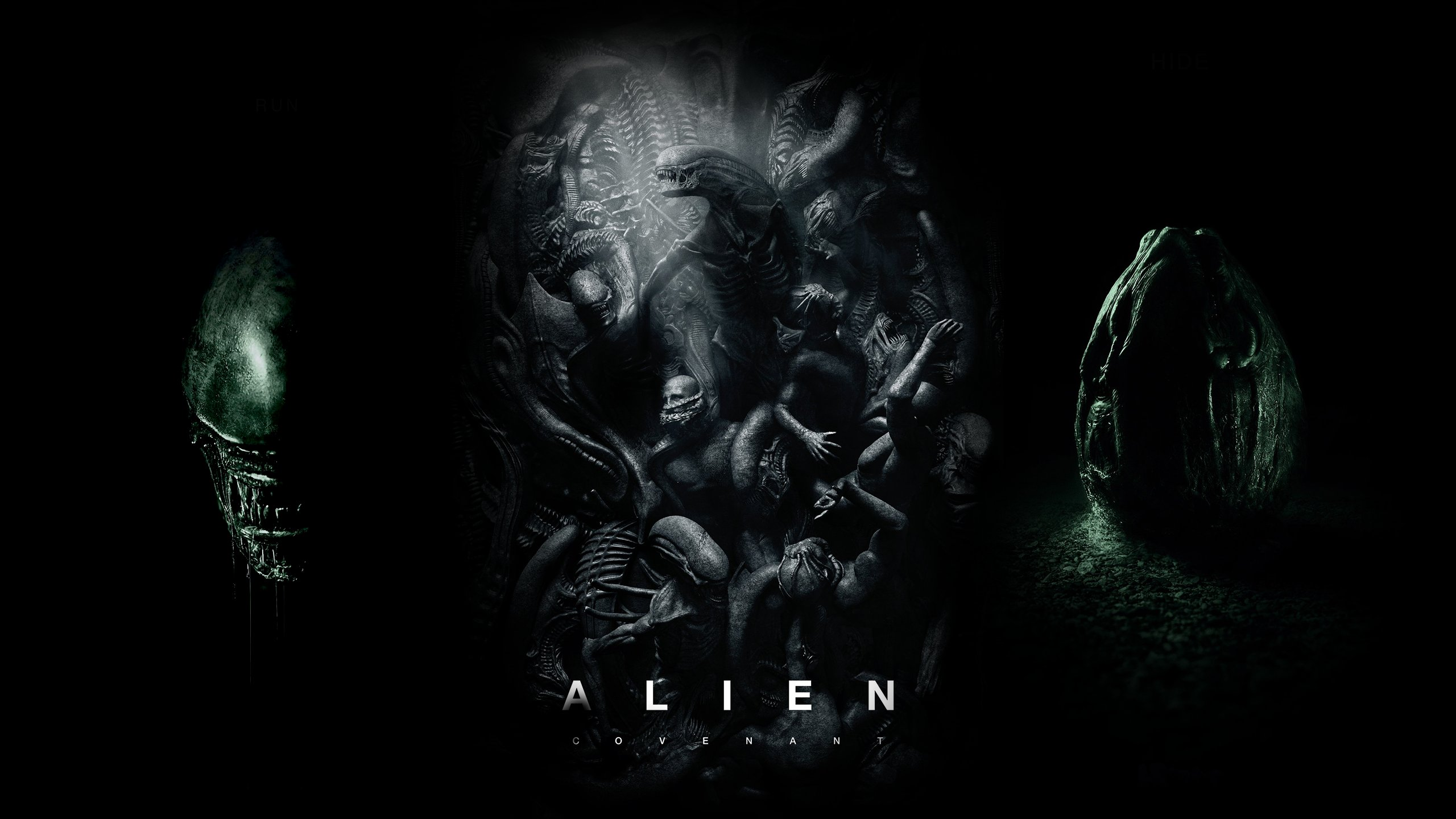 alien covenant run poster wallpaper-#24