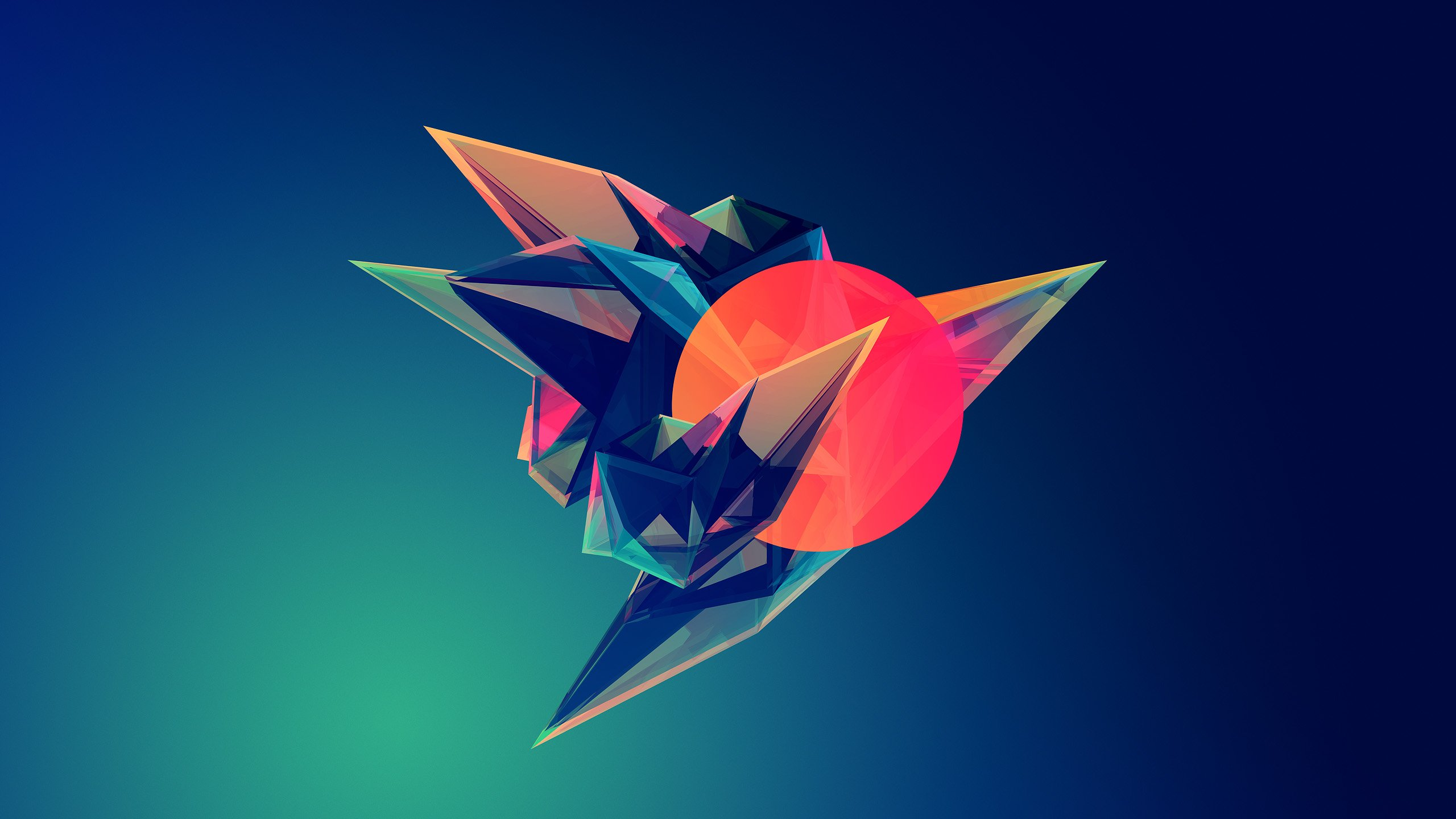 low poly minimalism wallpaper