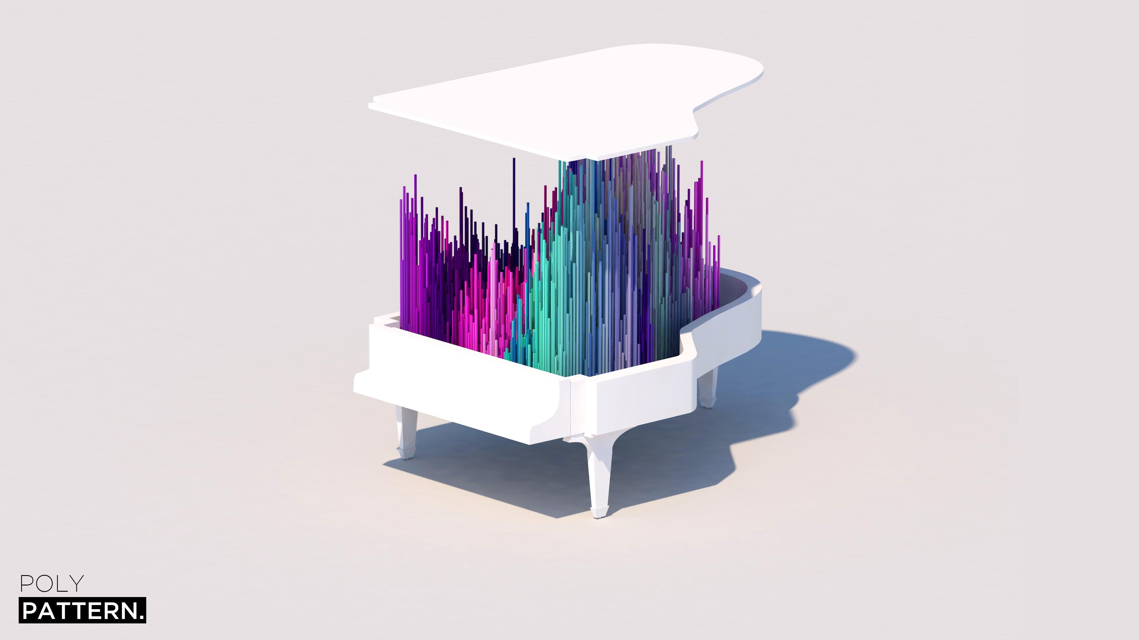 abstract piano art wallpaper - photo #26