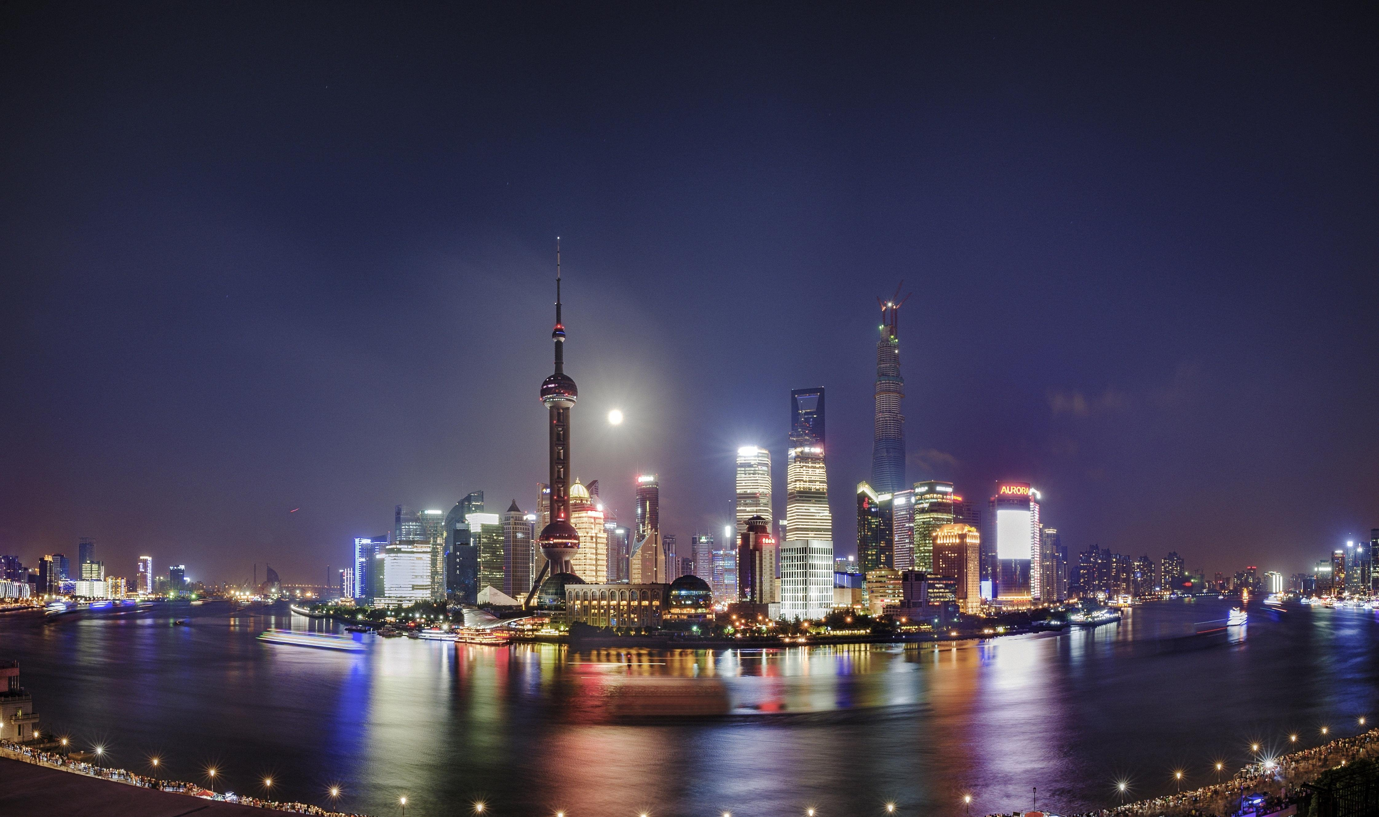 Shanghai wallpapers photos and desktop backgrounds up to 8k 7680x4320 resolution - Shanghai skyline wallpaper ...