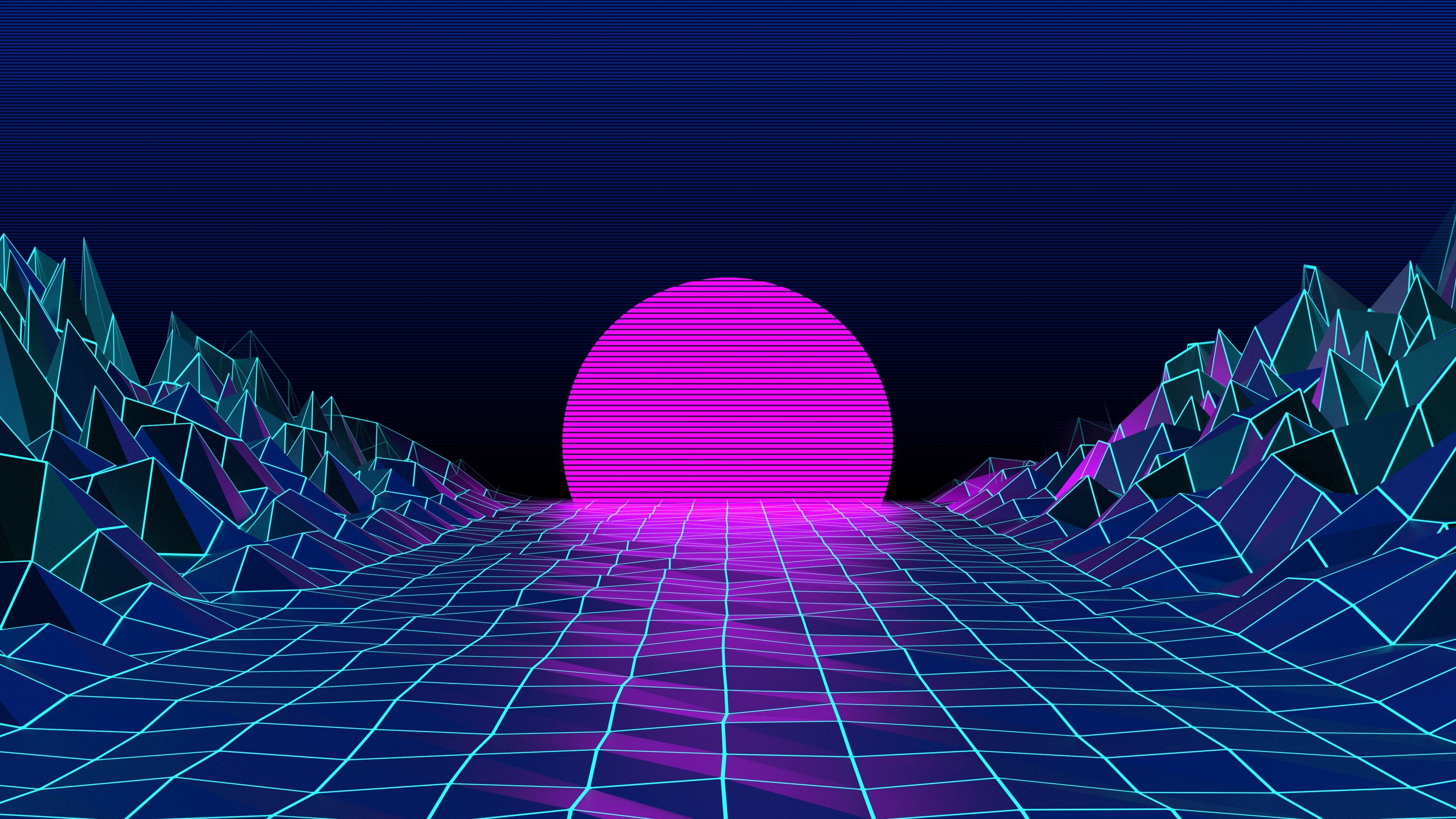 retro 80s wallpaper