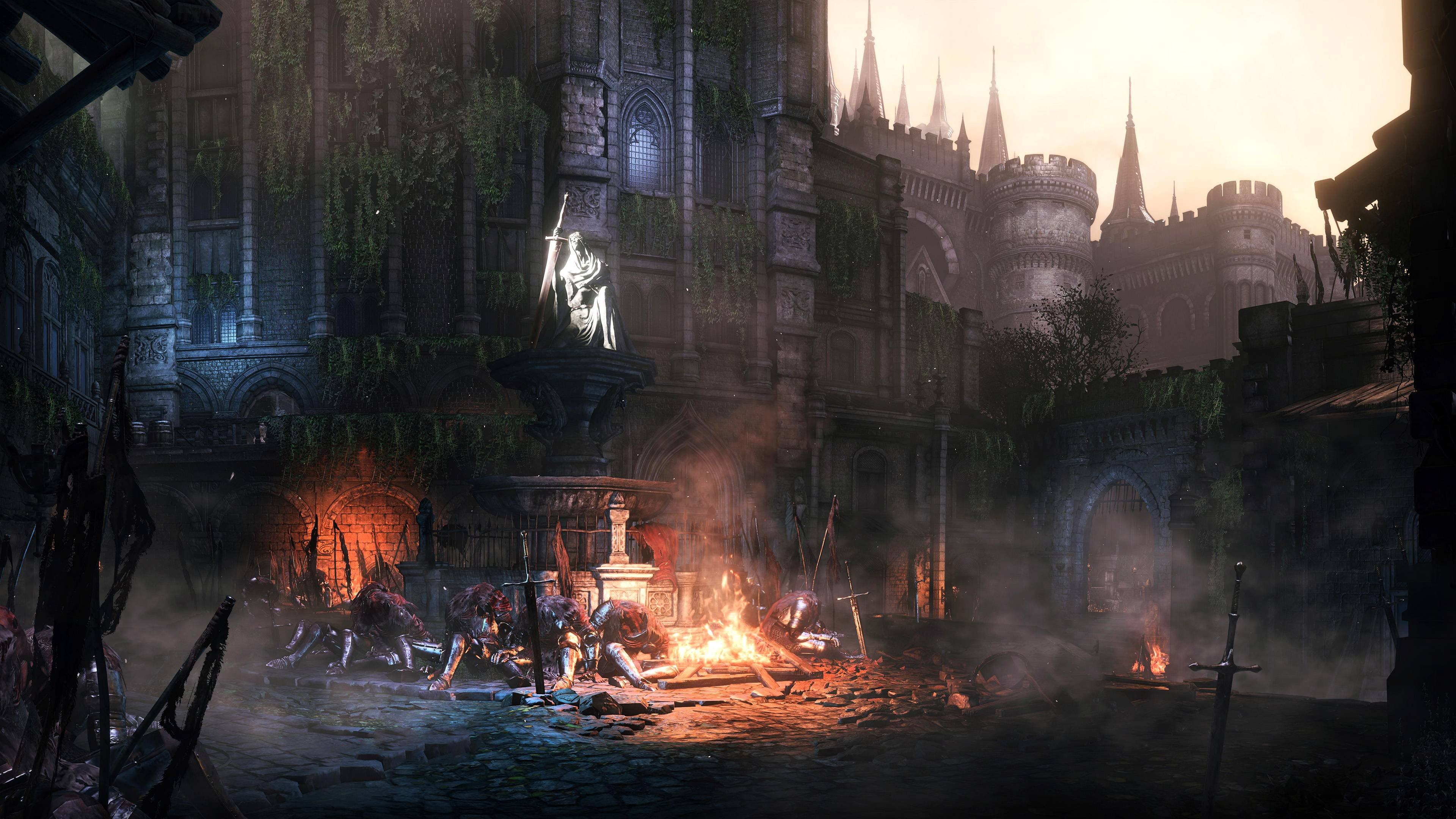 Dark Souls III - High Wall of Lothric wallpaper