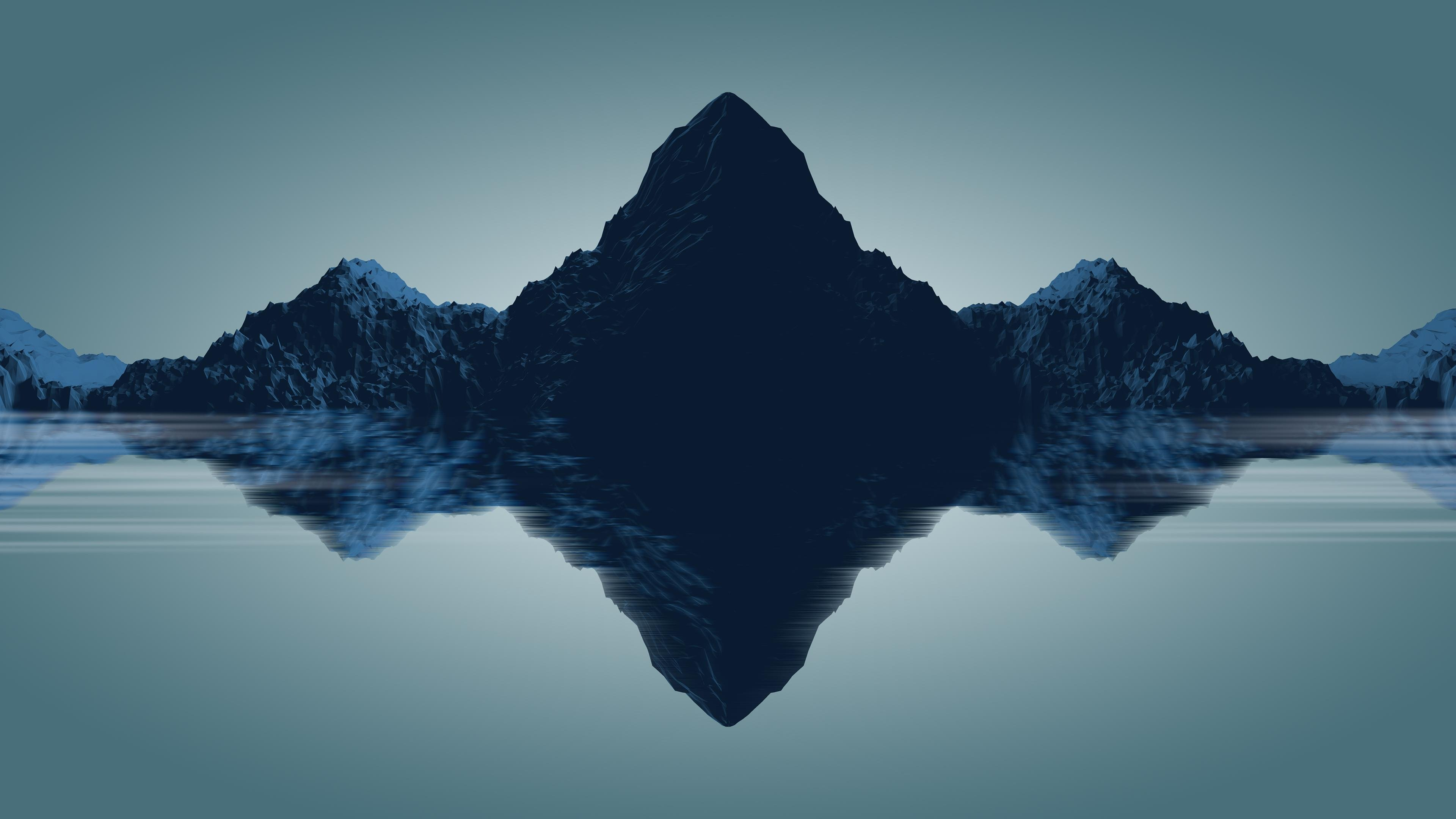 Simple Wallpaper Mountain Minimalistic - minimal-mountains-by-freshpie-wallpaper  Photograph_624334.jpg