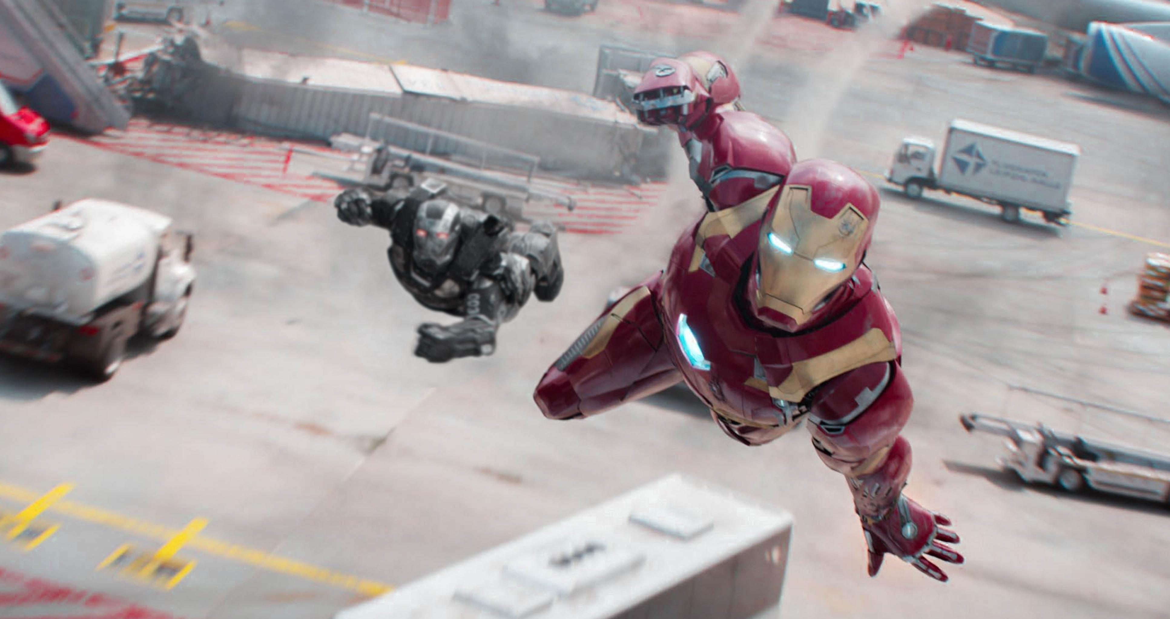 Iron Man Still 4K Wallpaper