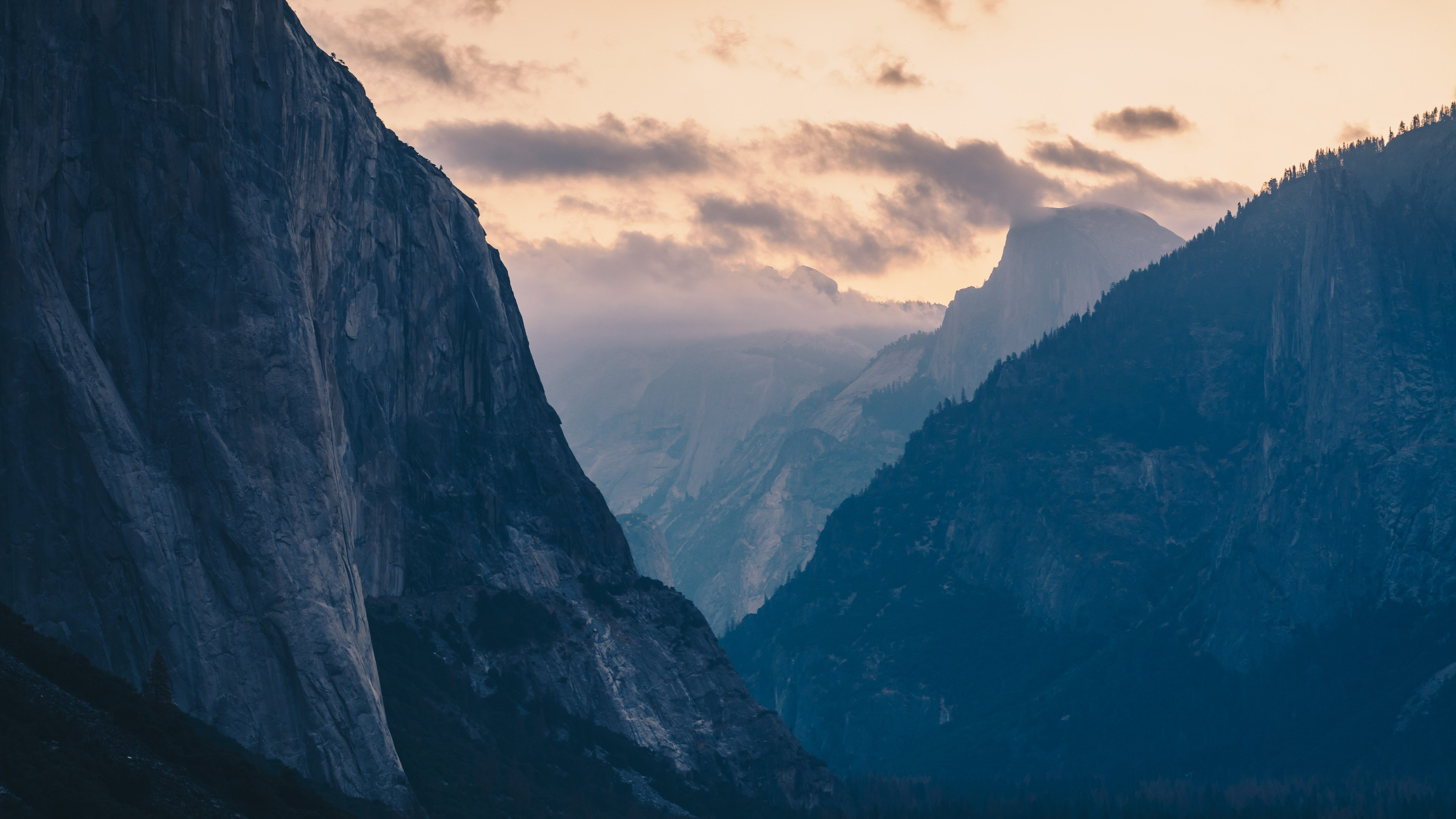 Sunrise Over Yosemite Valley CA wallpaper