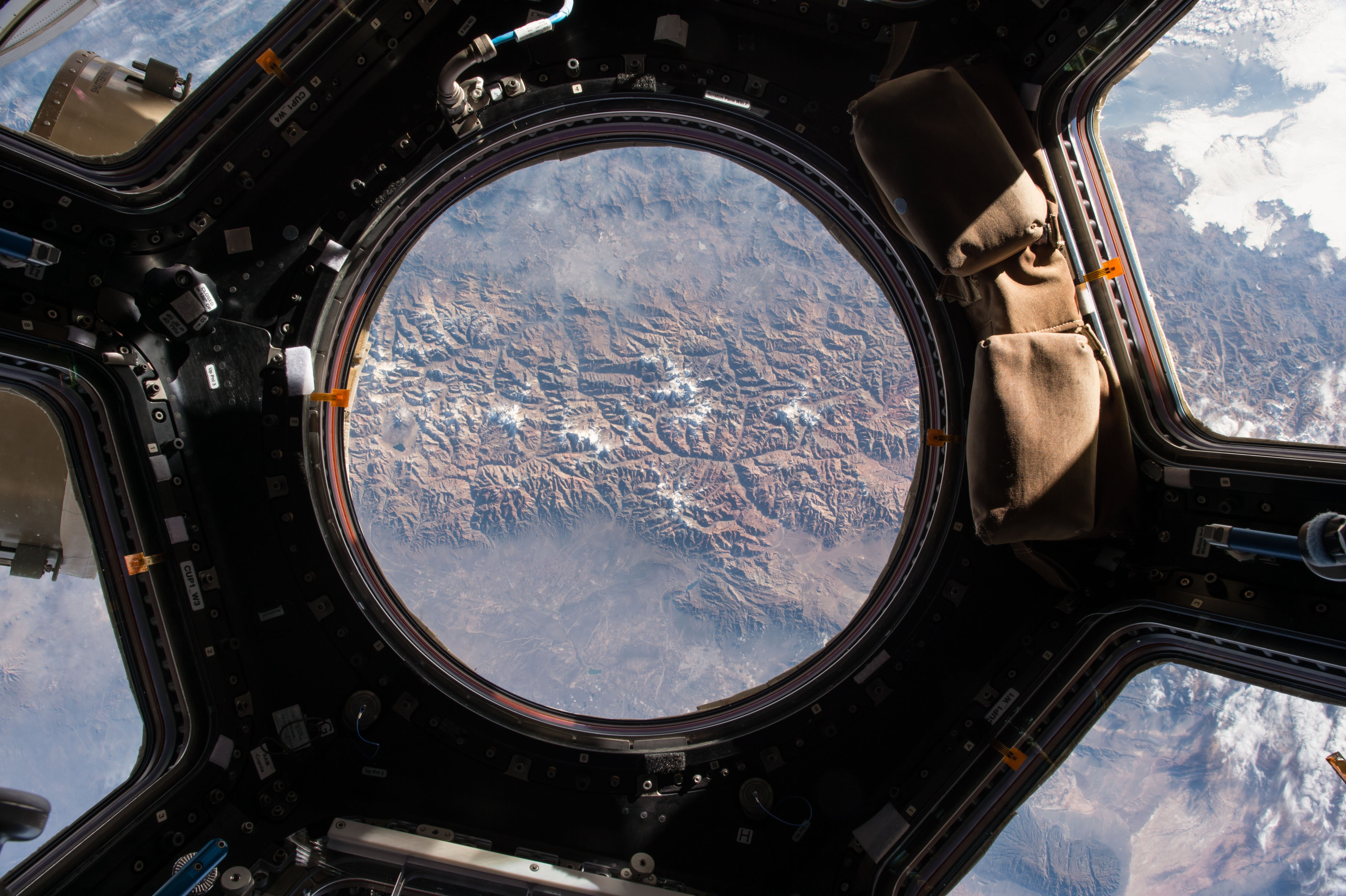 View of earth from the iss 4k wallpaper - Wallpaper iss ...