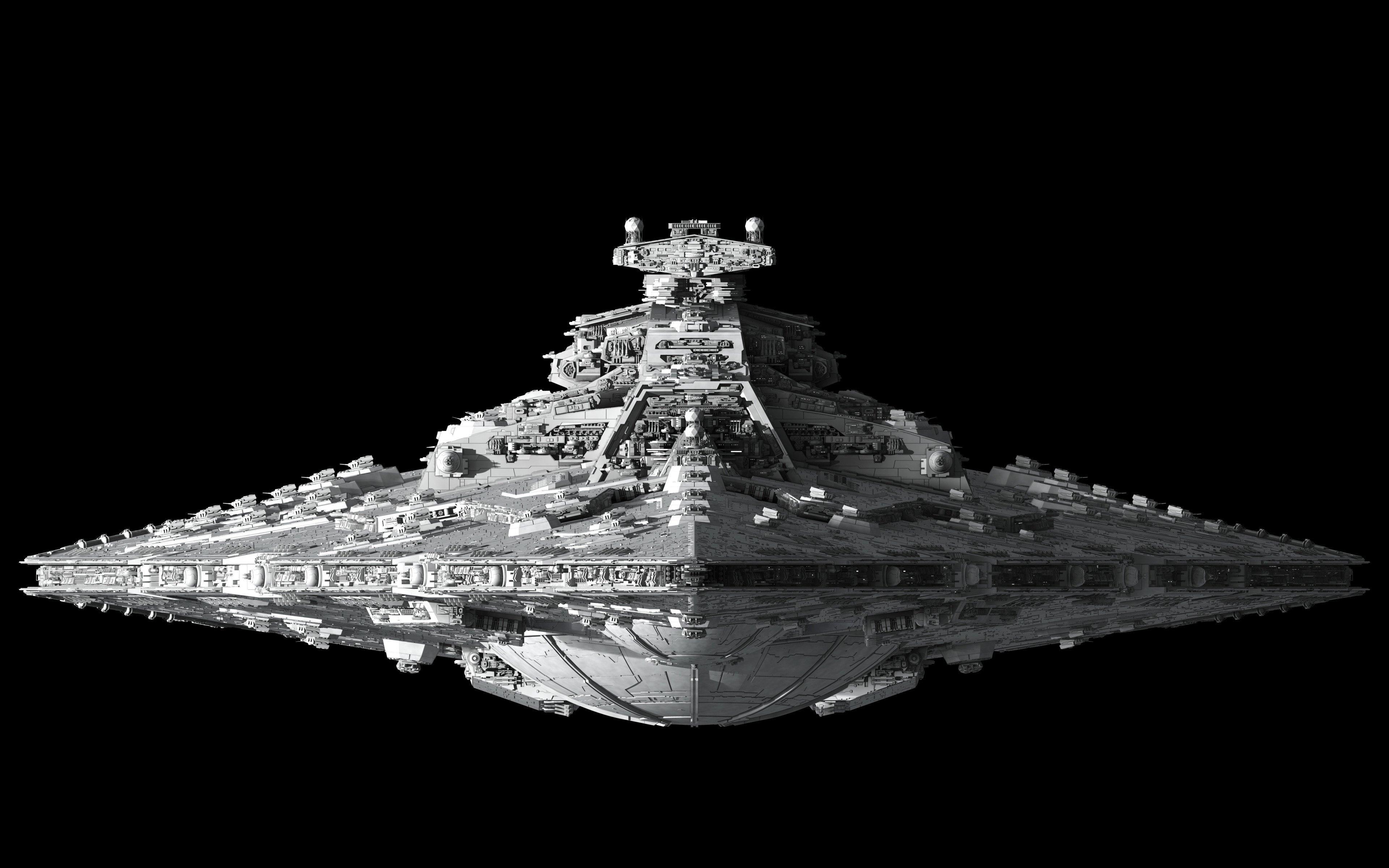 Star Destroyer 4k Wallpaper