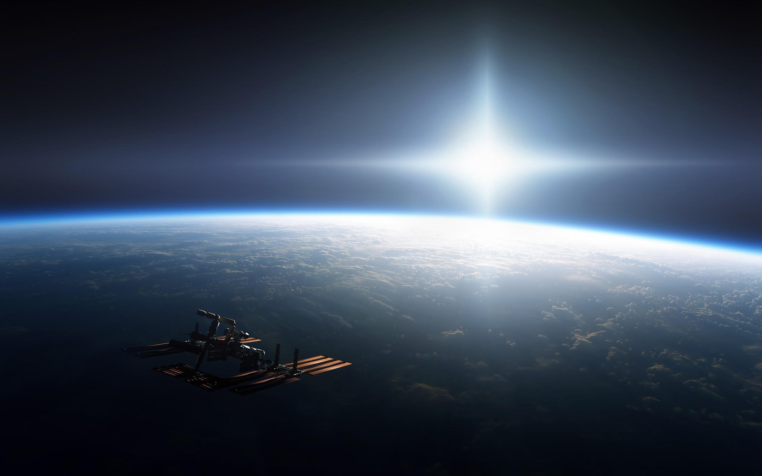 International Space Station Photography wallpaper