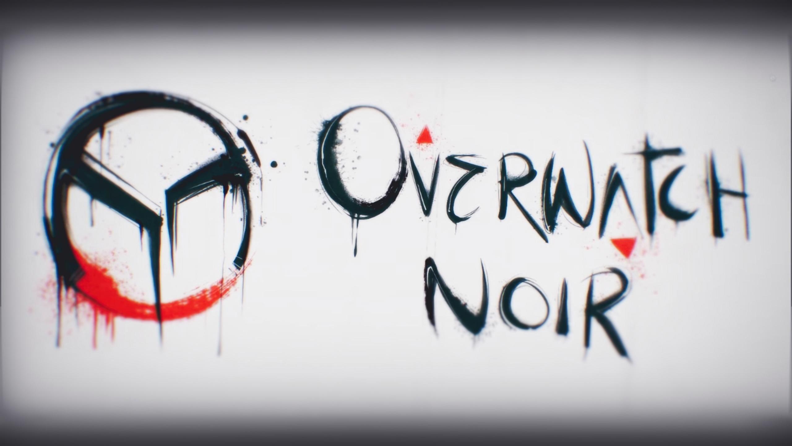 Overwatch Noir Hd Wallpaper