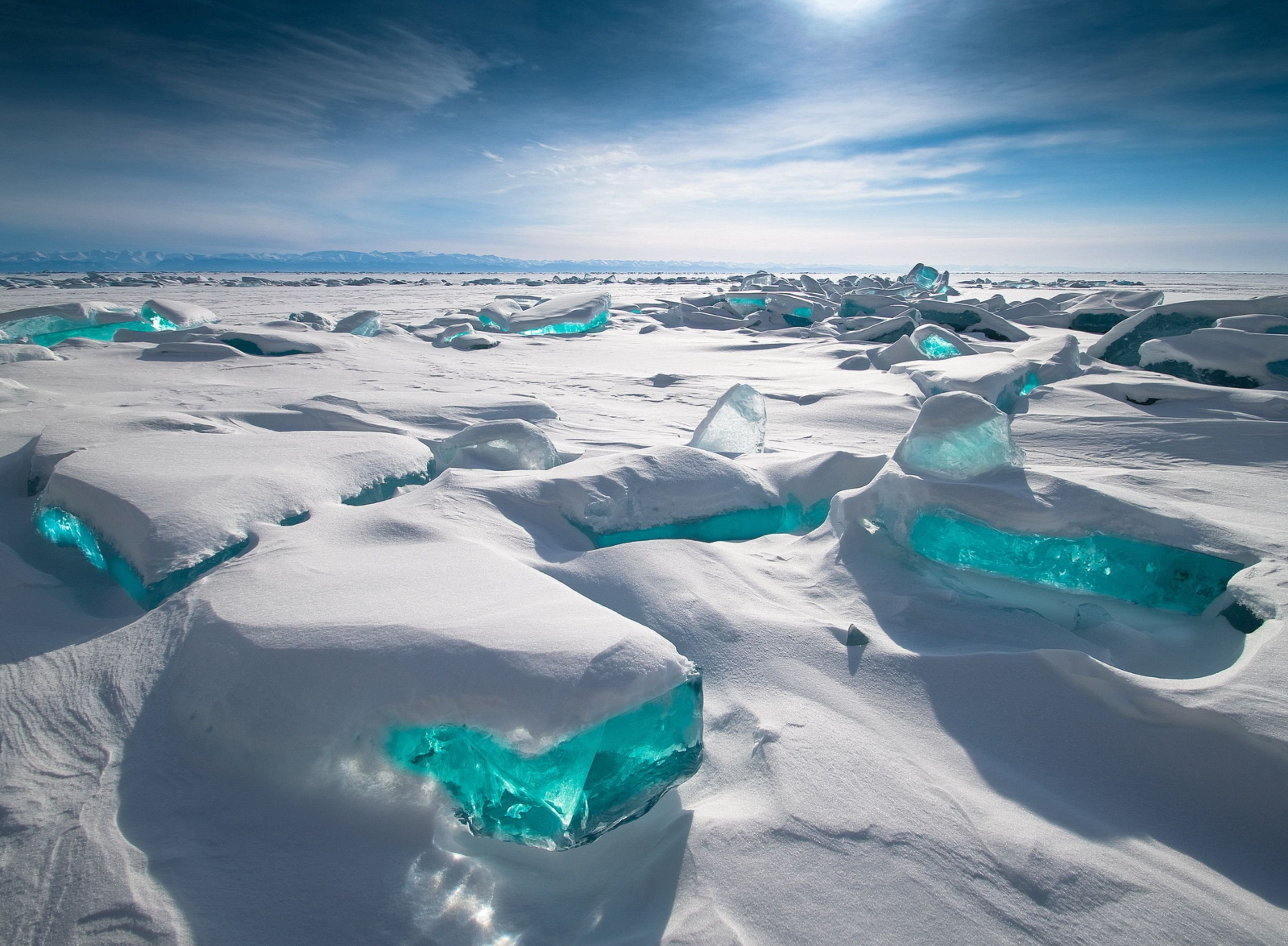 Lake Baikal Russia wallpaper