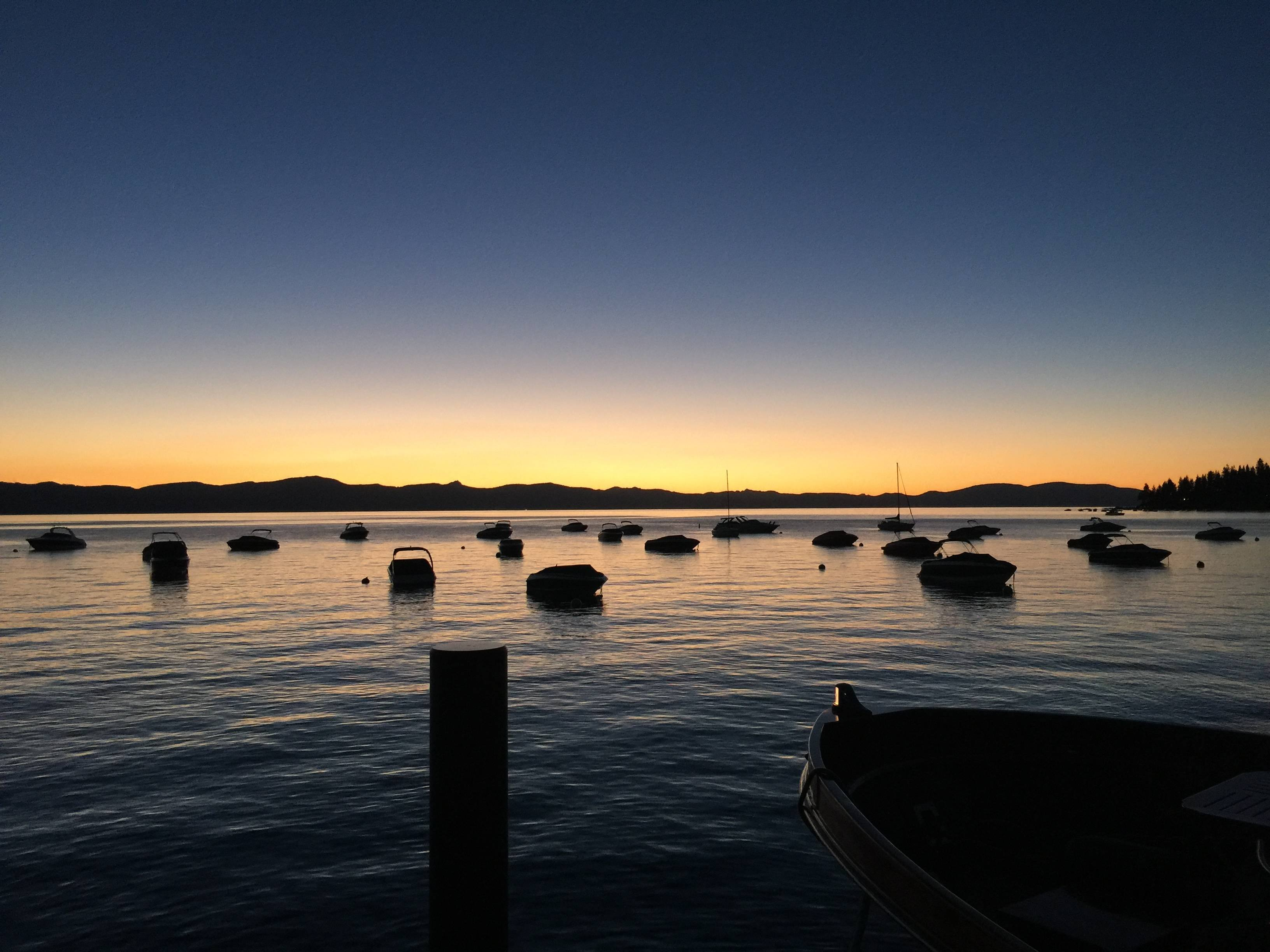 Lake Tahoe Sunset wallpaper